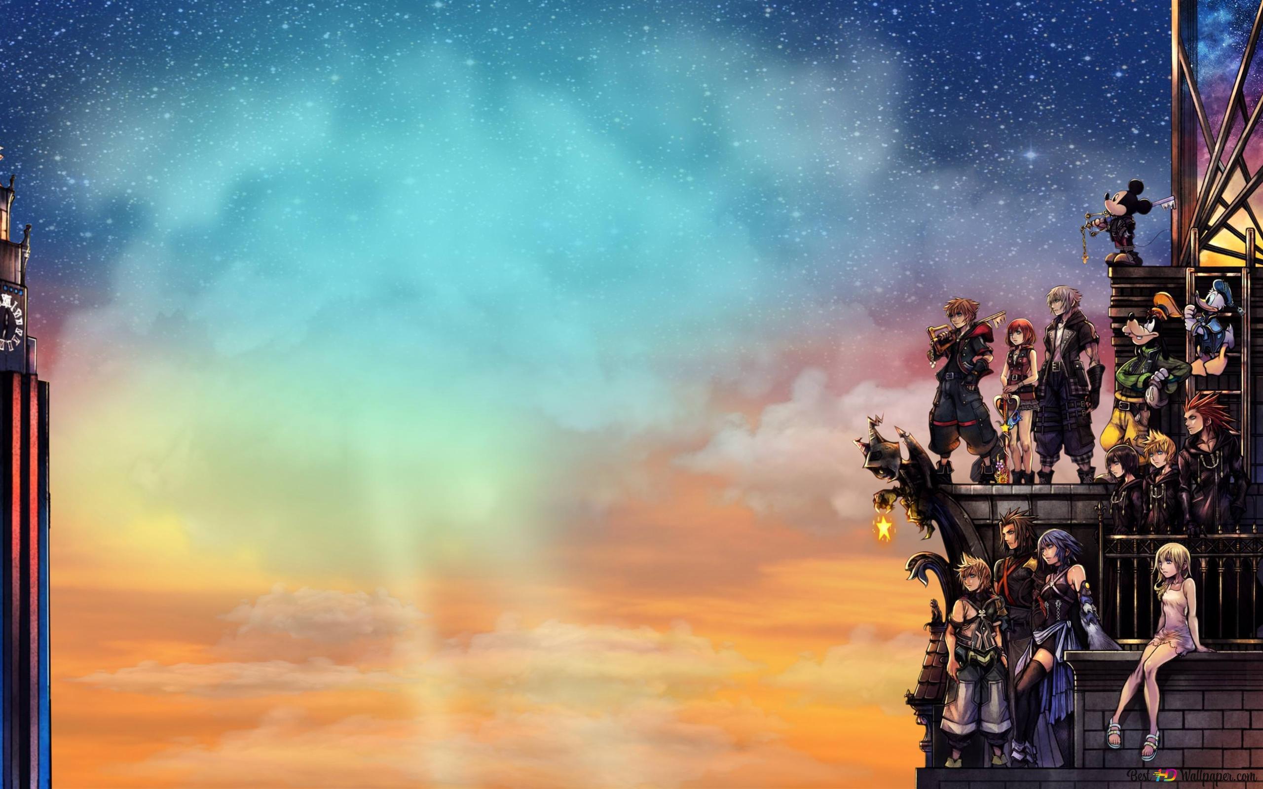 Kingdom Hearts Iii Hd Wallpaper Download