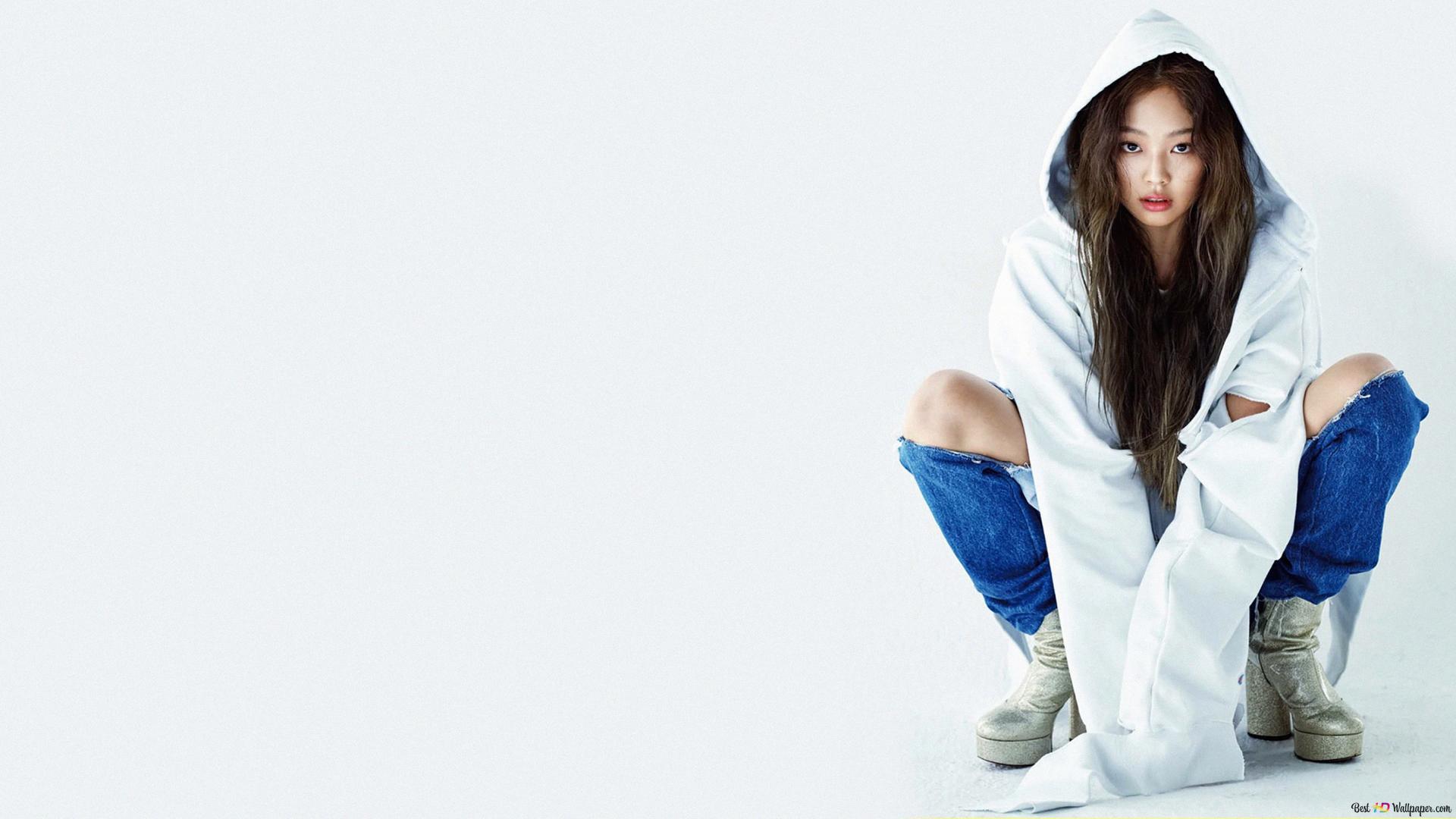 Korean Rapper Jennie Kim From Blackpink Hd Wallpaper Download