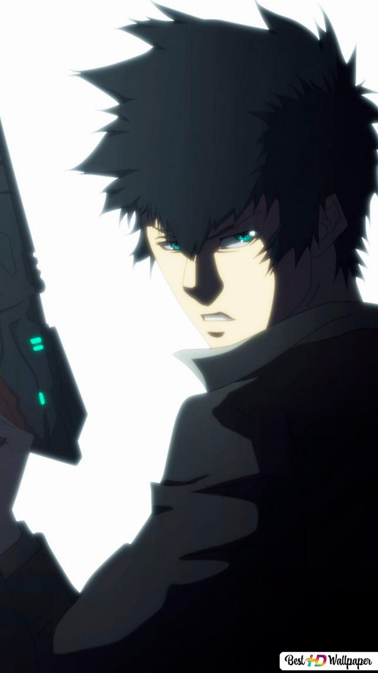 Kougami Shinya Psycho Pass Hd Wallpaper Download