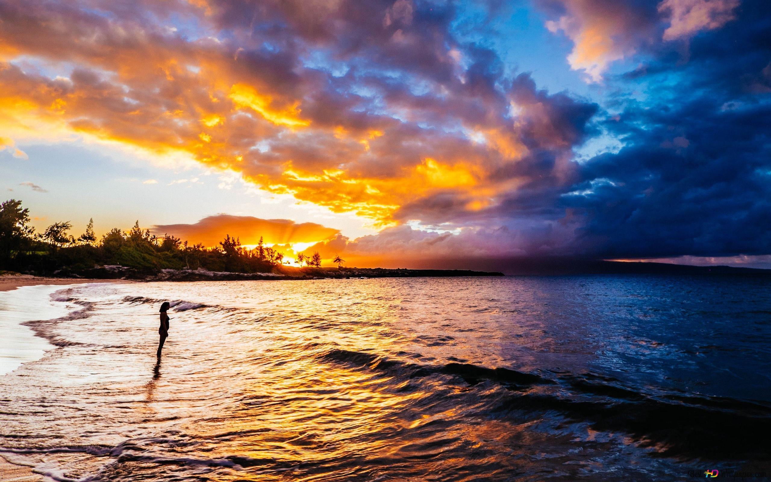 Смешные, картинки закат и море на телефон