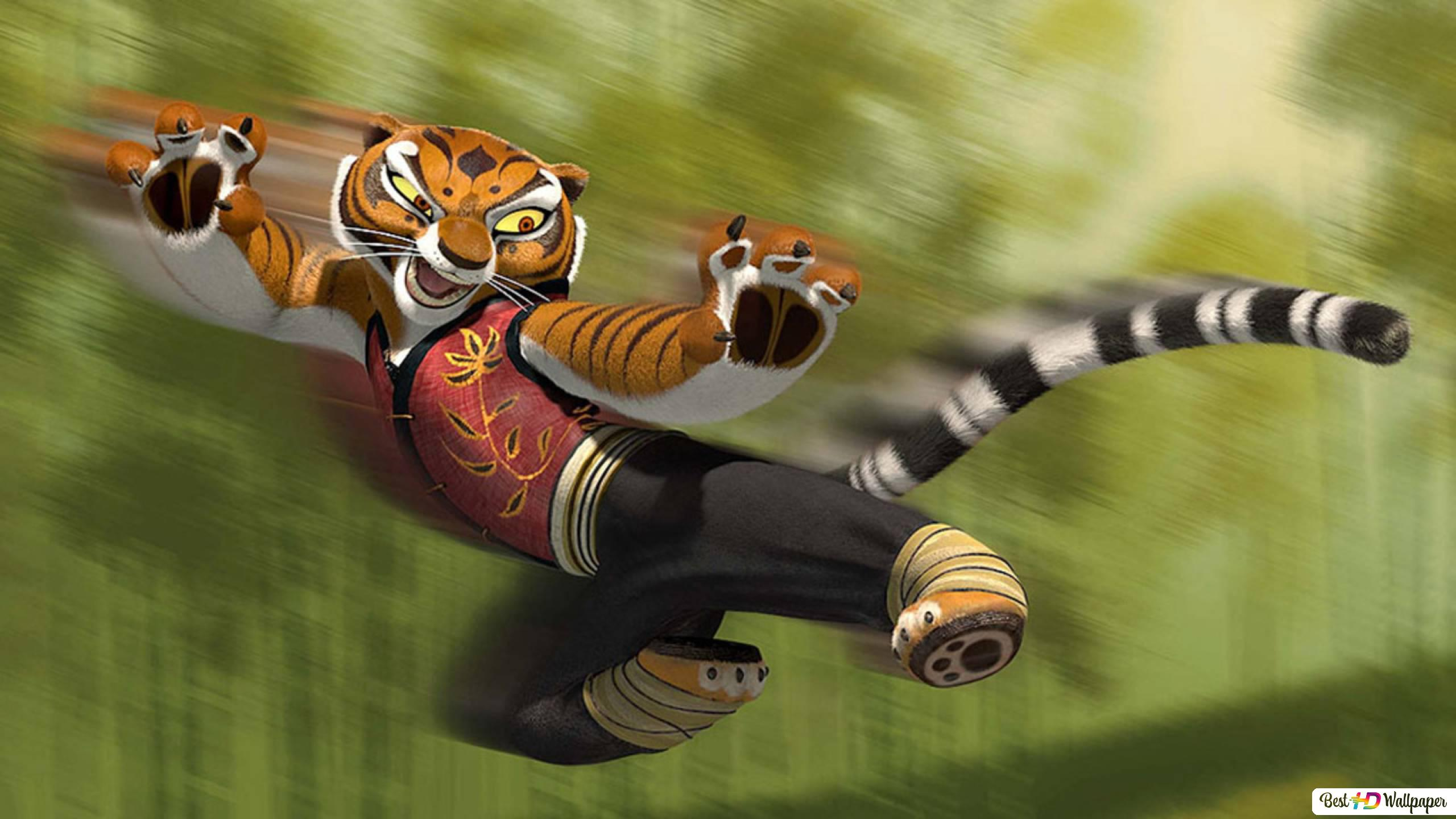 Kung Fu Panda Tigress Hd Wallpaper Download