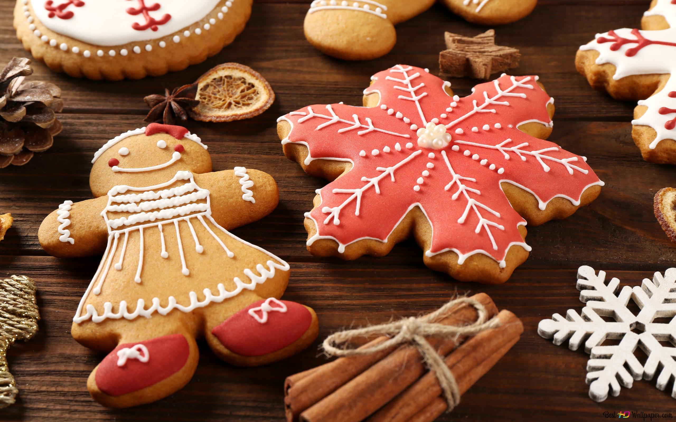 クリスマスクッキー Hd壁紙のダウンロード