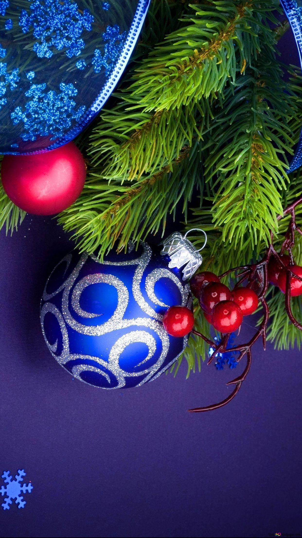 クリスマスのモミの枝 Hd壁紙のダウンロード