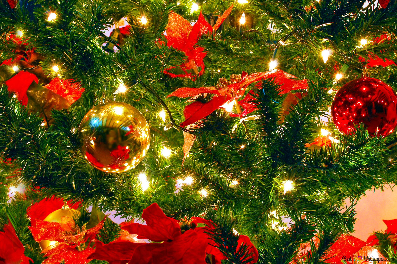 クリスマスツリーの装飾 Hd壁紙のダウンロード