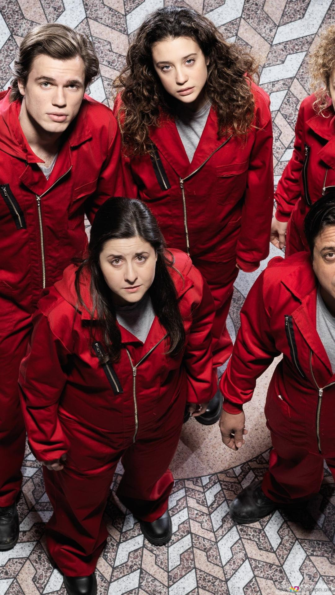 La Casa De Papel Captive Hd Wallpaper Download