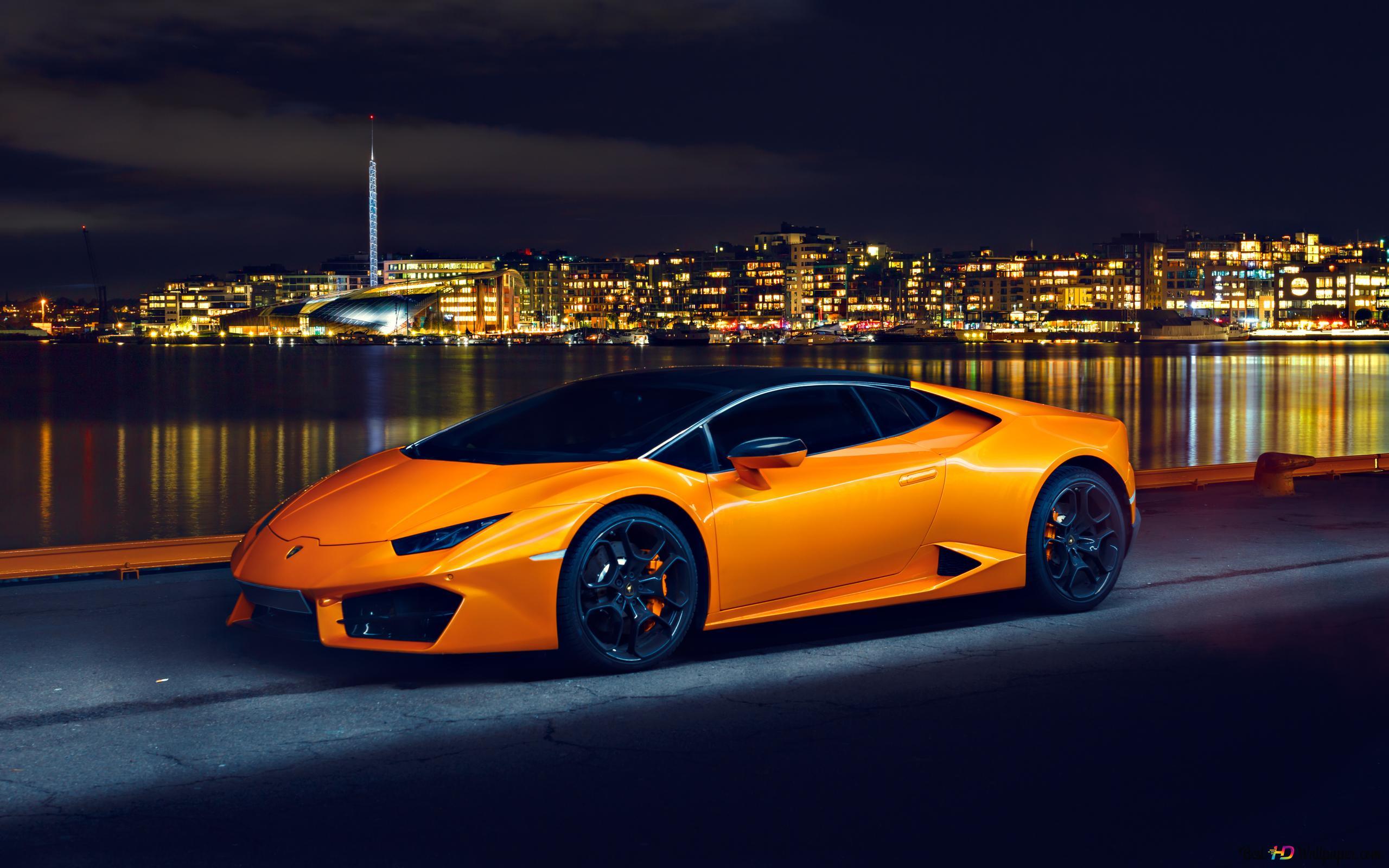 Lamborghini Huracan Car Hd Wallpaper Download
