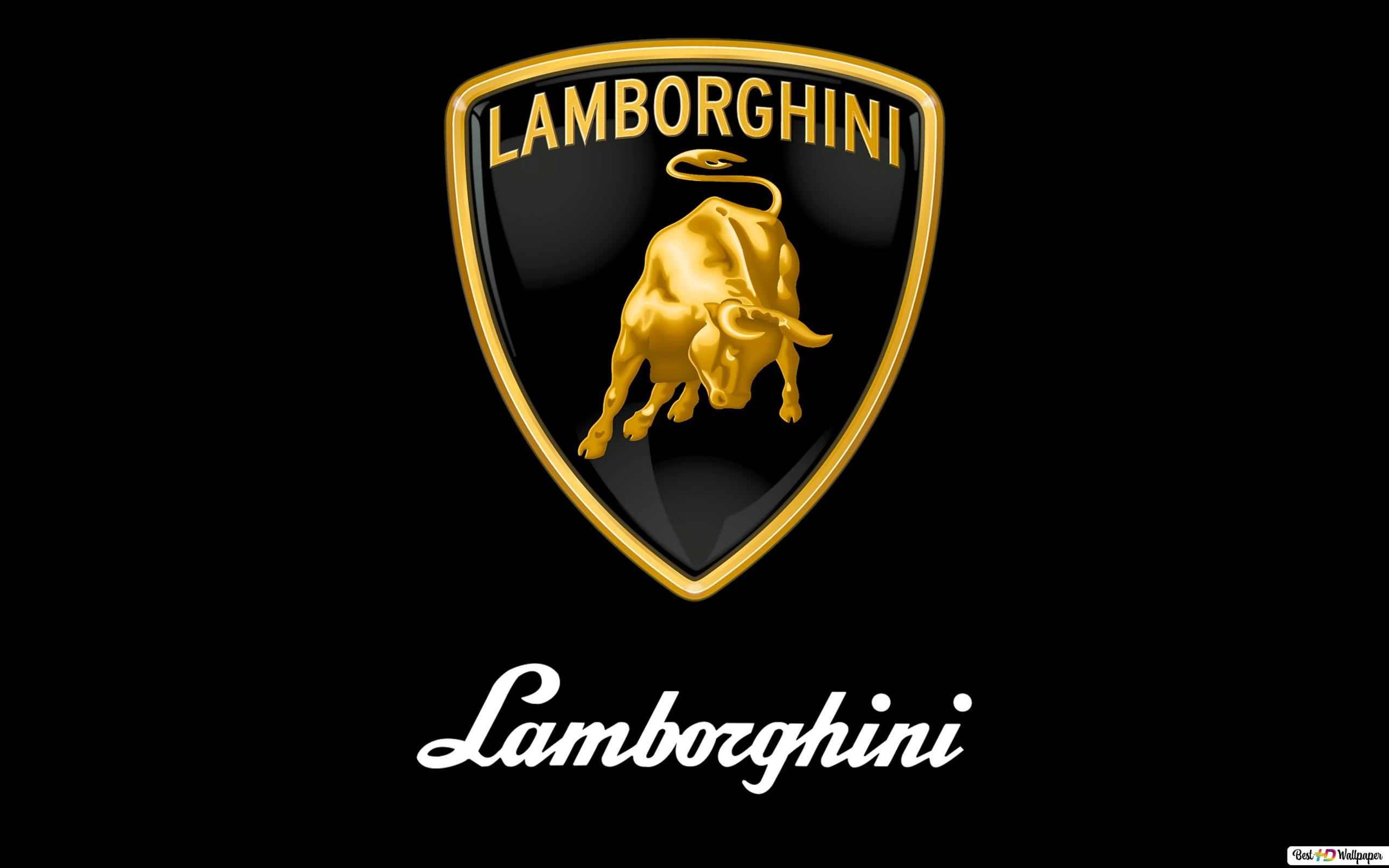 Lamborghini Logo Hd Wallpaper Download