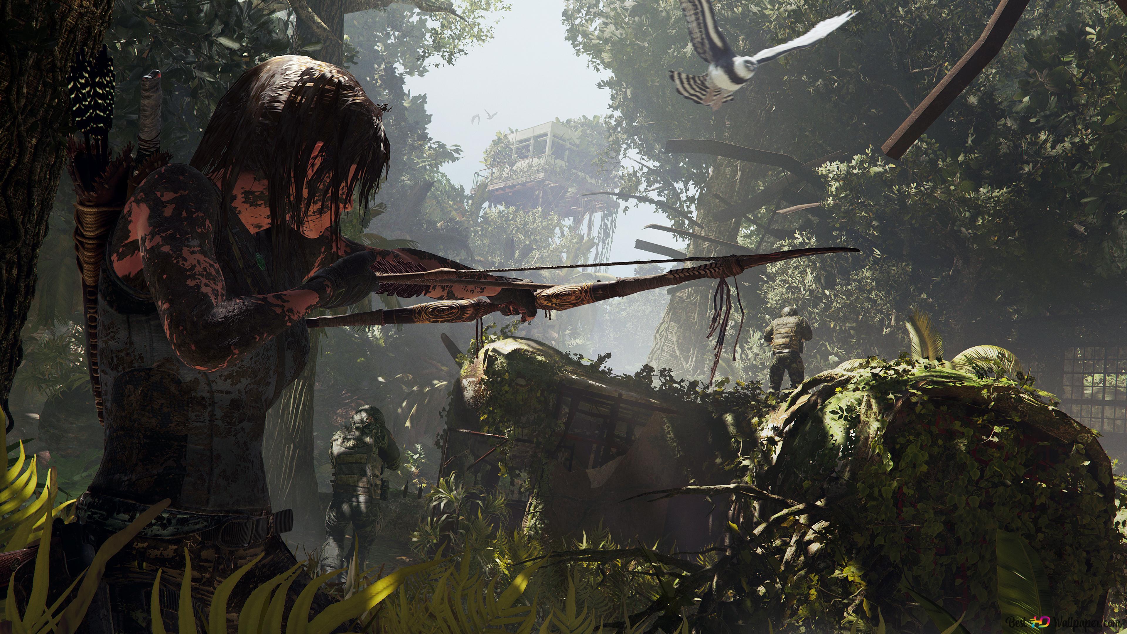 Lara Croft Shadow Of The Tomb Raider Hd Wallpaper Download