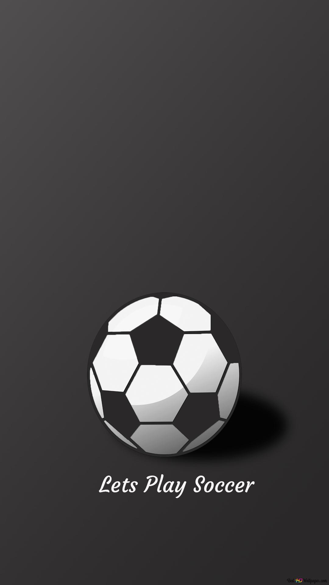 Lassen Sie Uns Fussball Spielen Hd Hintergrundbilder