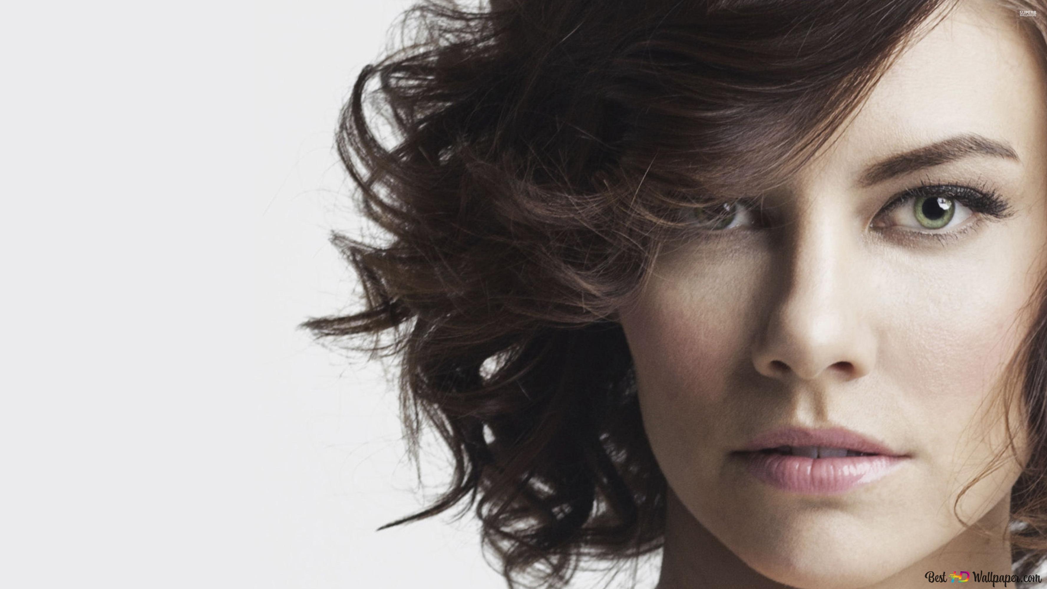 Lauren Cohan Actrice Et Modèle Hd Fond Décran Télécharger