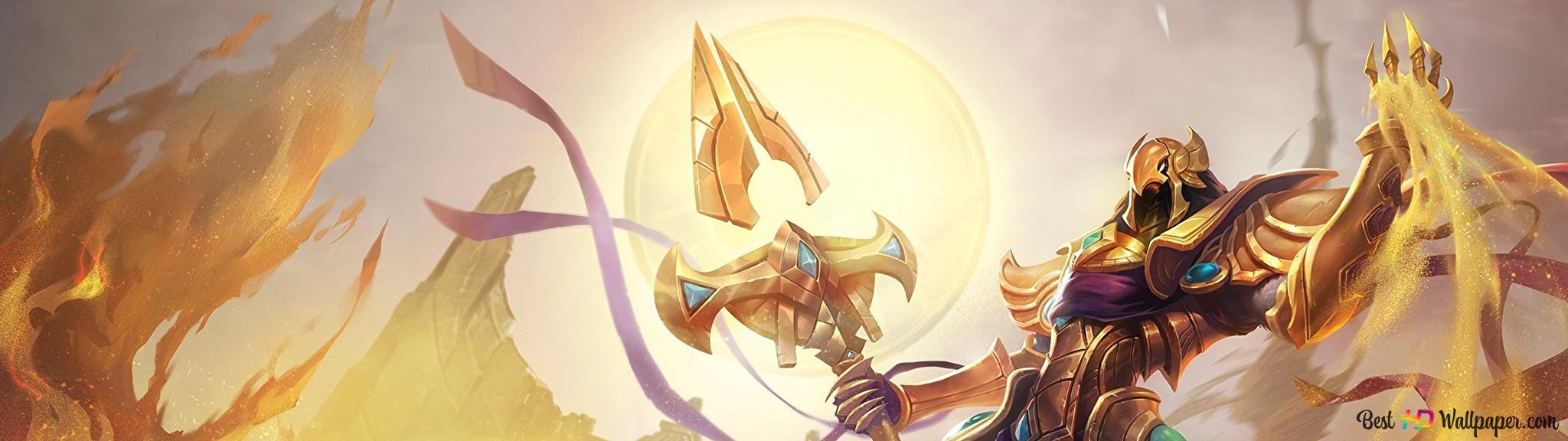 League Of Legends Azir Emperor Of The Sands Hd Wallpaper Download