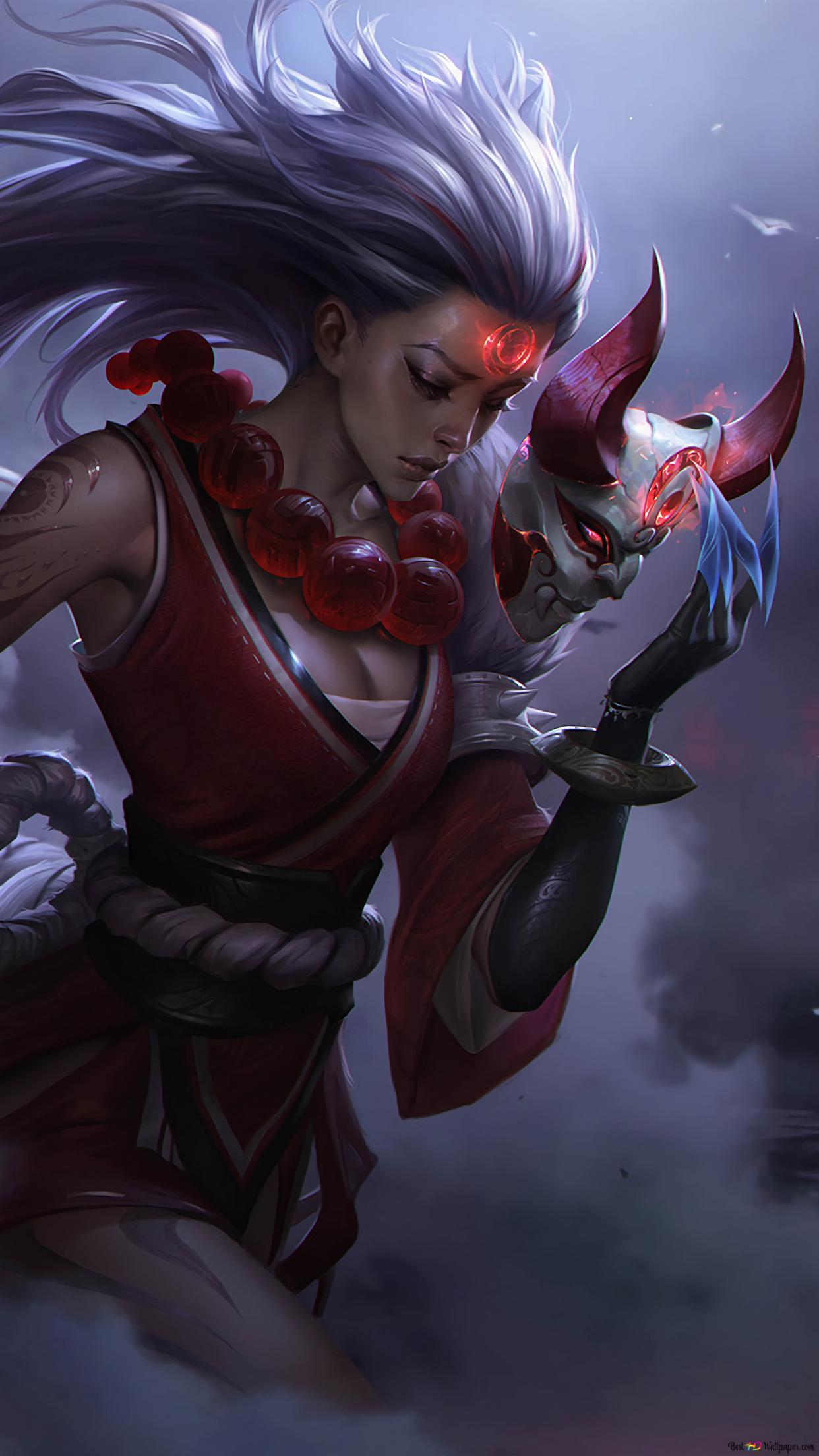 League Of Legends Blood Moon Diana Hd Wallpaper Download