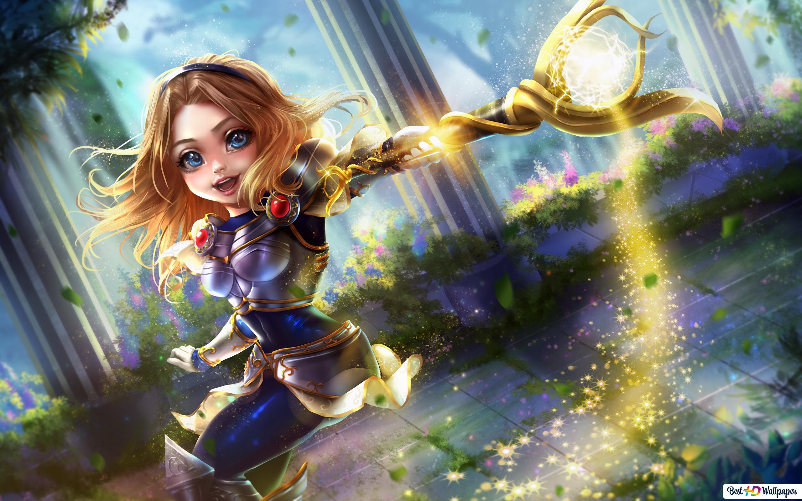 League Of Legends Chibi Lux Hd Wallpaper Download
