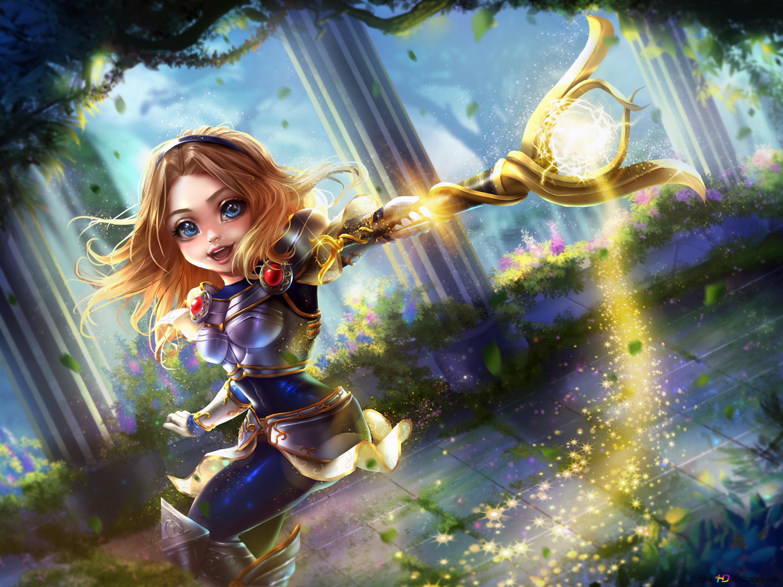 League Of Legends Chibi Lux Hd Wallpaper Download