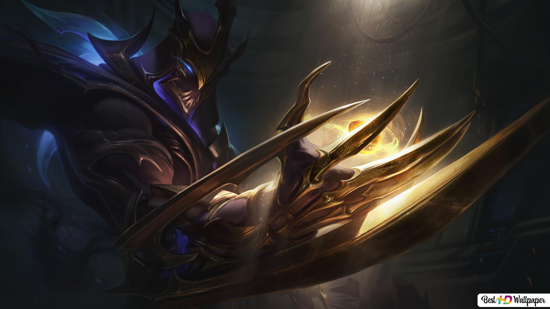League Of Legends Galaxy Slayer Zed Hd Wallpaper Download