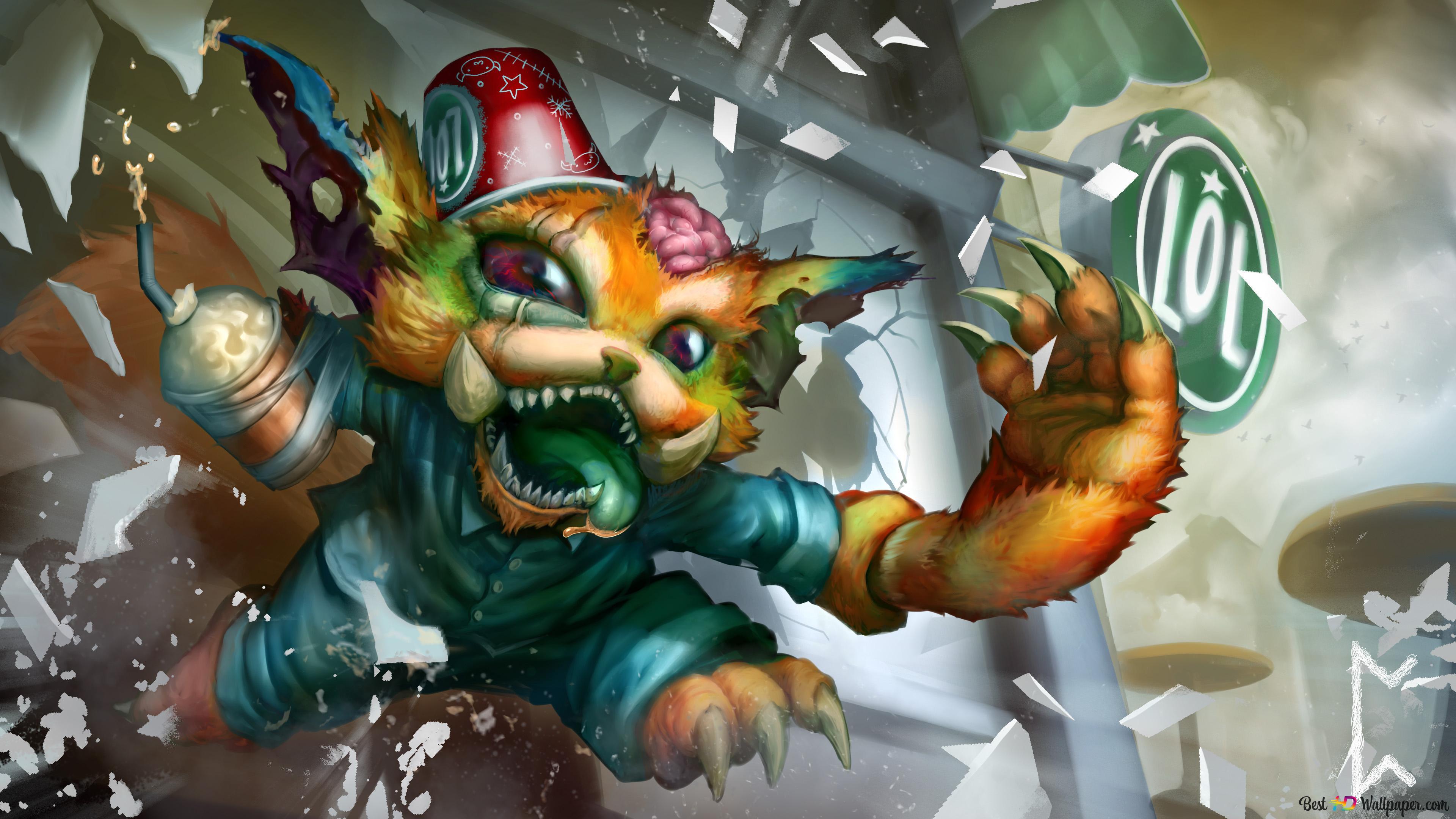 League Of Legends Gnar Hd Wallpaper Download