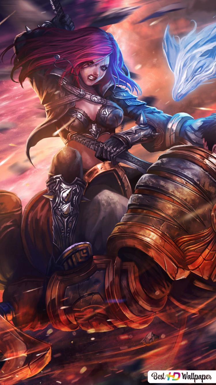 League Of Legends Katarina Hd Wallpaper Download