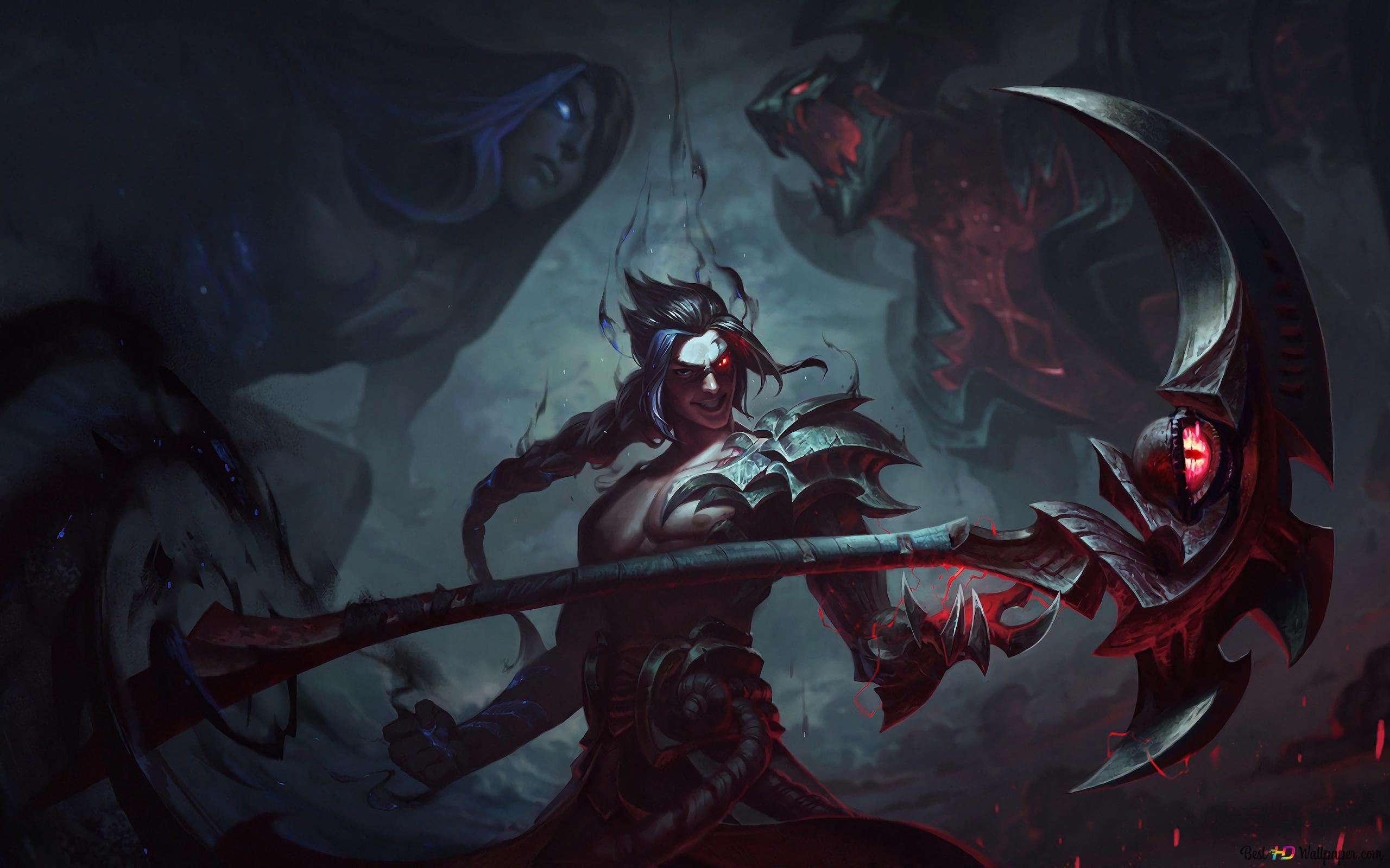 League Of Legends Kayn Hd Wallpaper Download