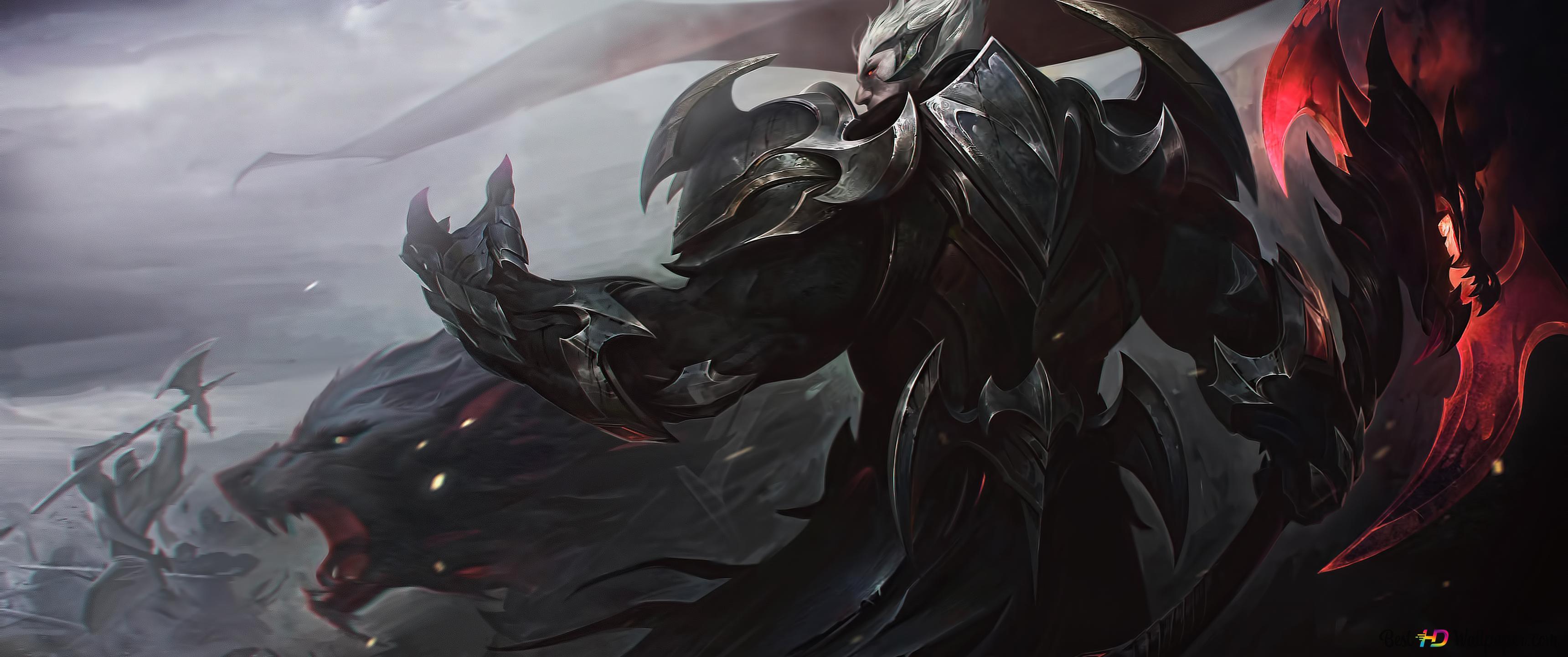 League Of Legends Lol Darius Hd Wallpaper Download