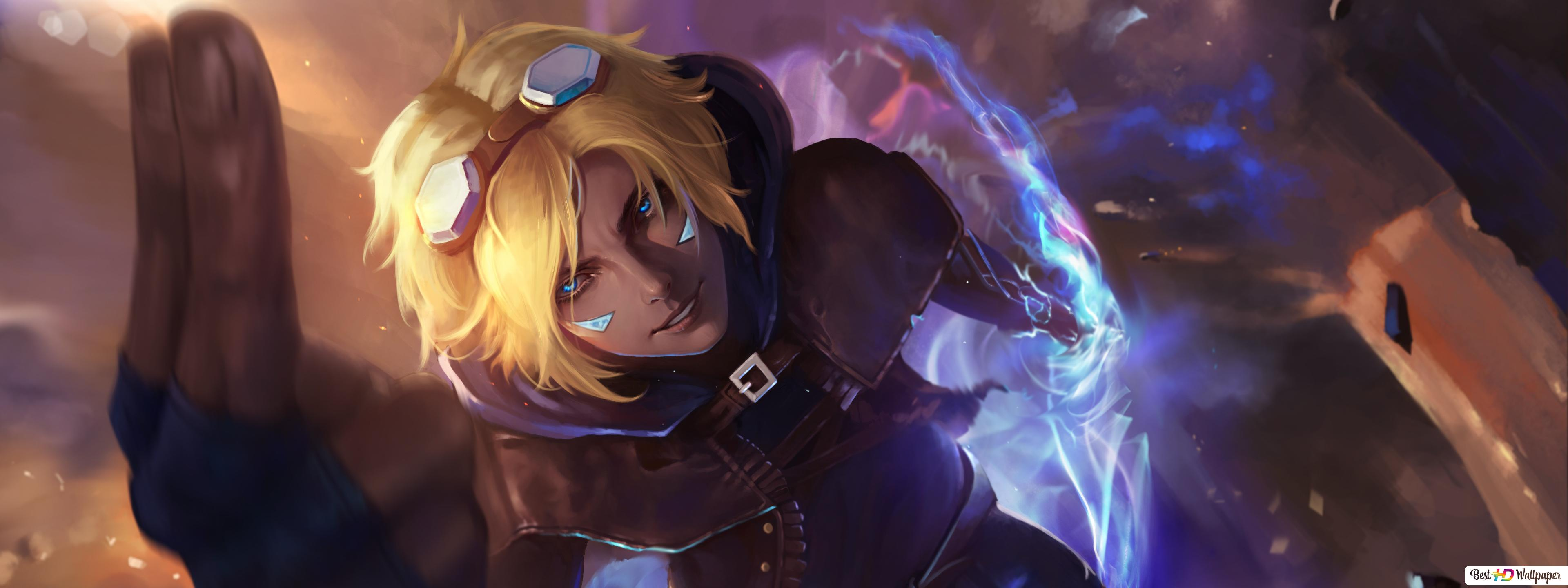 League Of Legends Lol Ezreal Hd Wallpaper Download