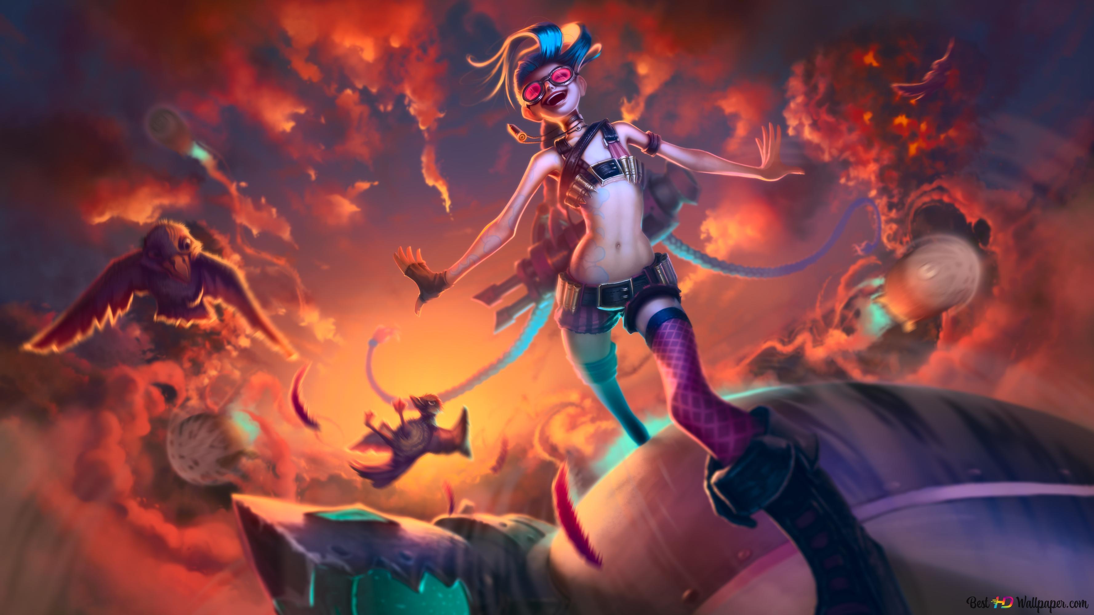League Of Legends Lol Jinx Hd Wallpaper Download