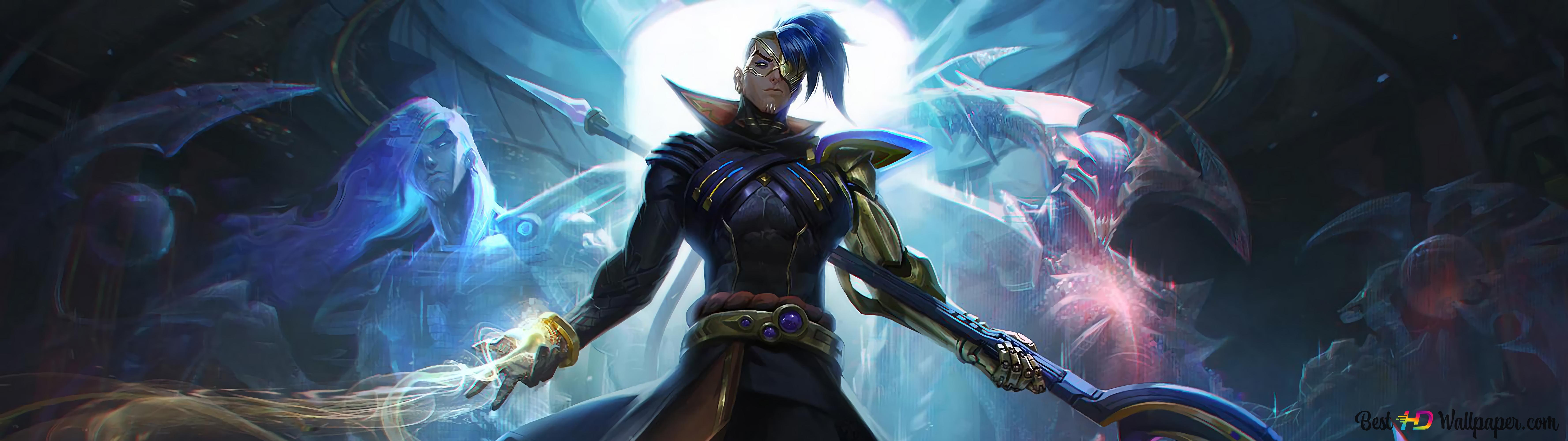 League Of Legends Lol Odyssey Kayn Hd Wallpaper Download