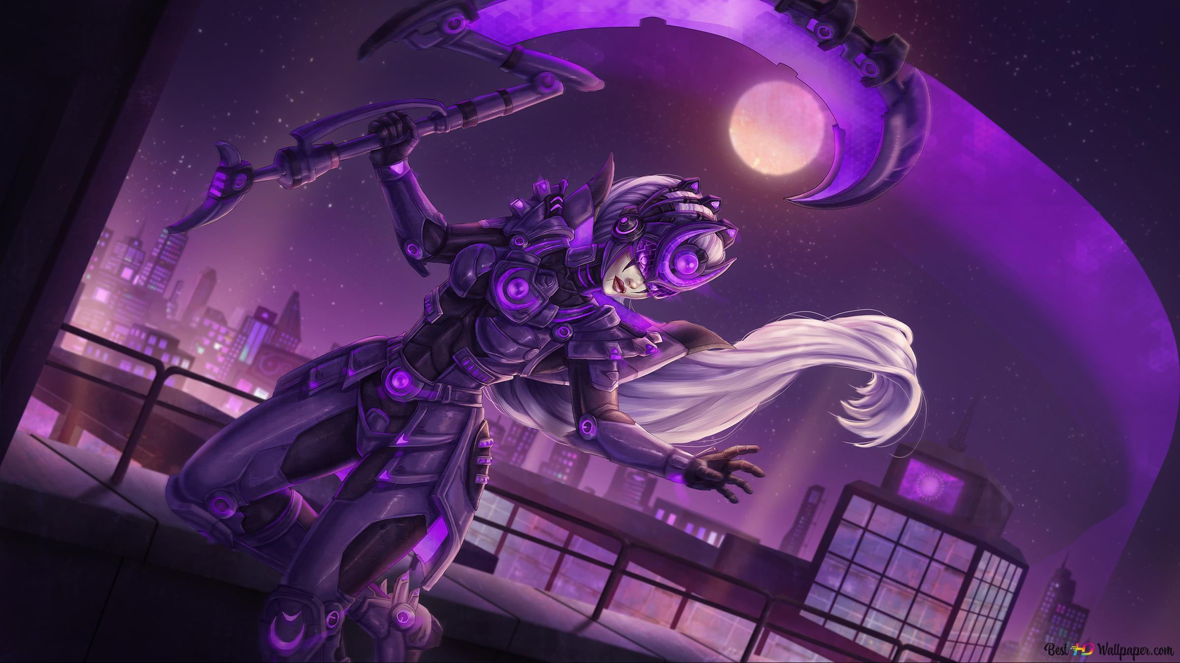 League Of Legends Magical Diana Hd Wallpaper Download