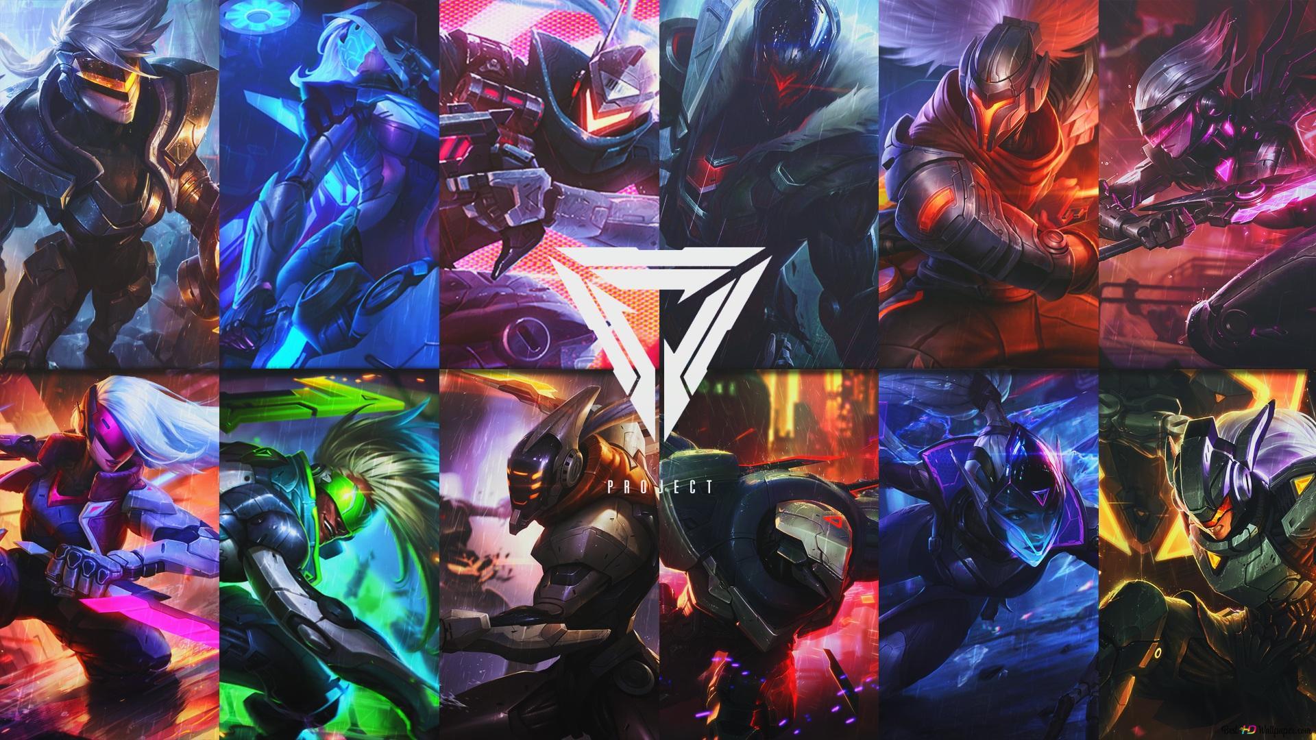 League Of Legends Project Hd Wallpaper Download