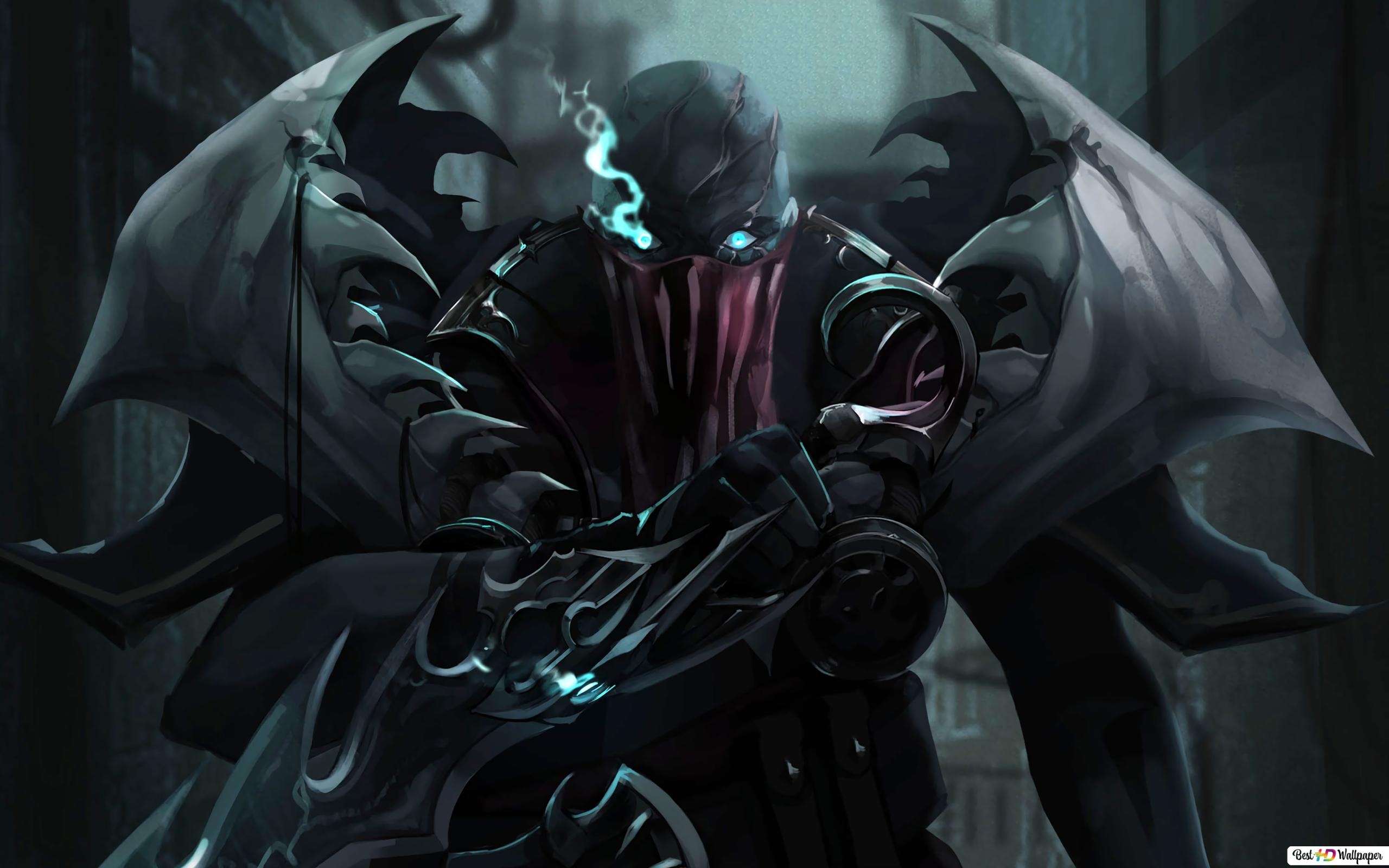 Dual Monitor Wallpaper League Of Legends: League Of Legends: Pyke HD Wallpaper Download
