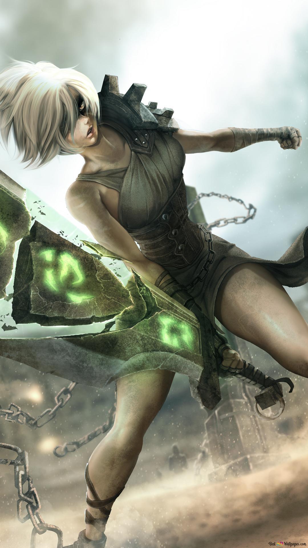 League Of Legends Riven Fanart Hd Wallpaper Download