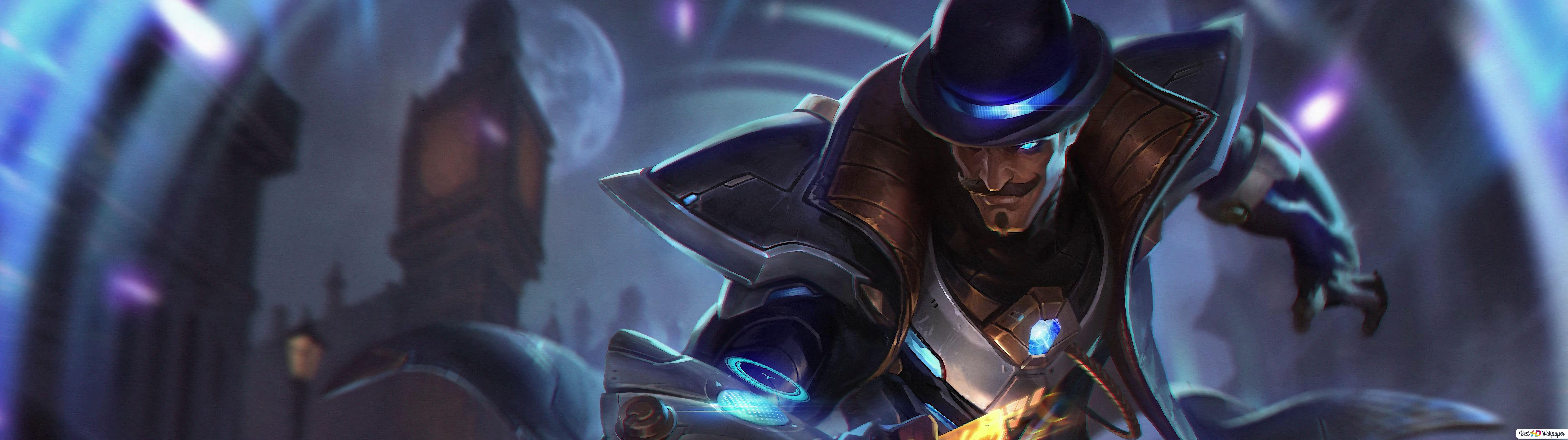 League Of Legends Twisted Fate Hd Wallpaper Download