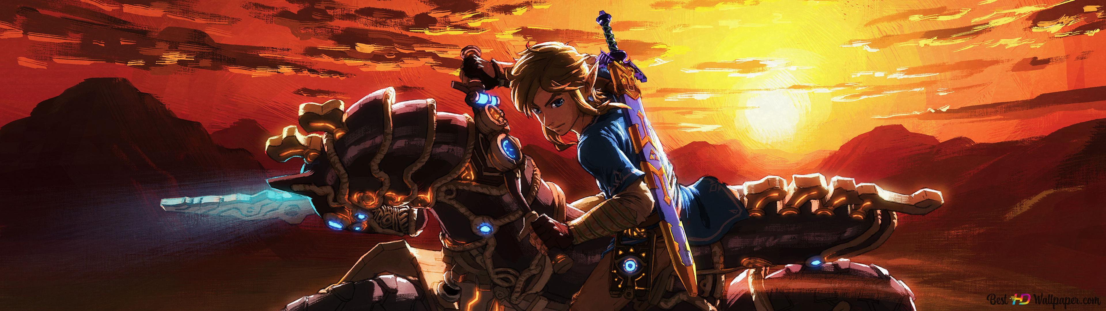 Legend Of Zelda Breath Of The Wild Link Hd Wallpaper Download