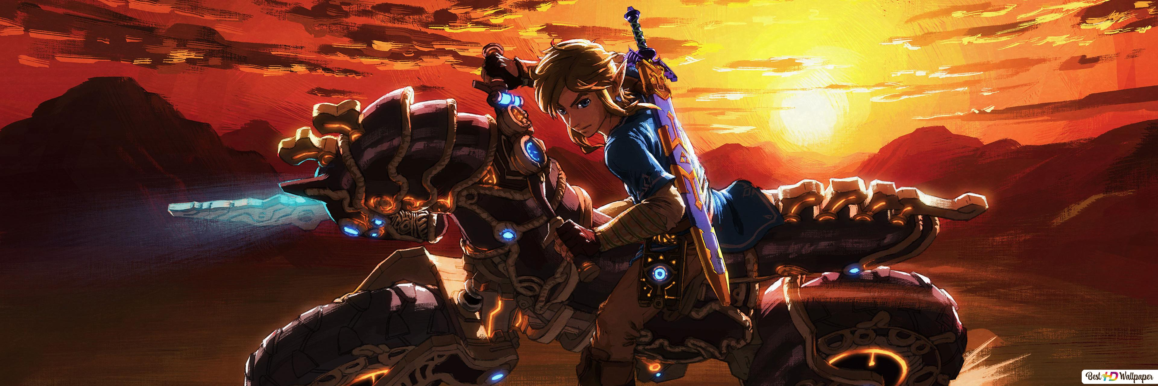 Legend Of Zelda Breath Of The Wild Link Hd Wallpaper Download