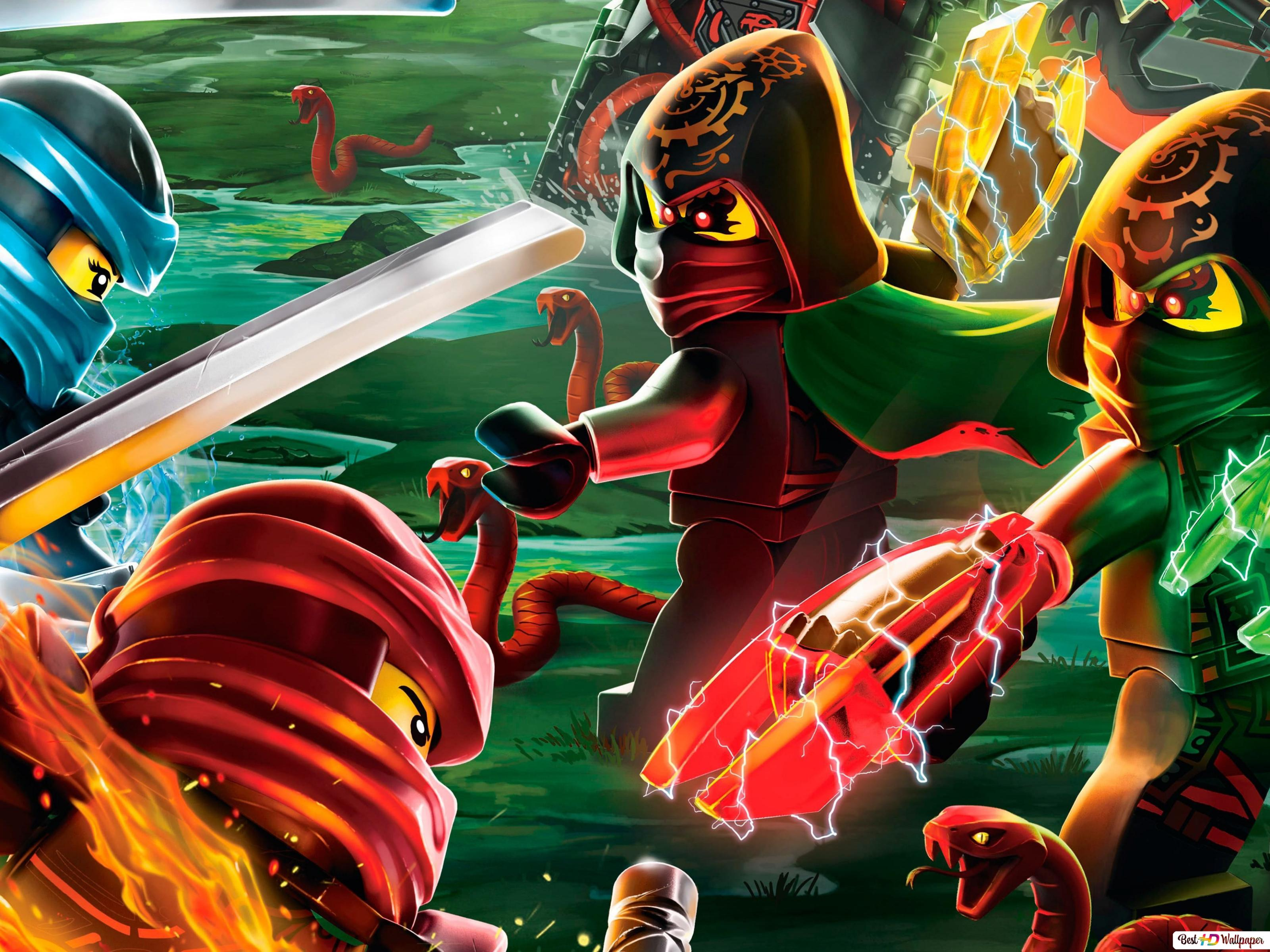 Voorkeur LEGO Ninjago: Masters of Spinjitzu HD wallpaper downloaden CJ07