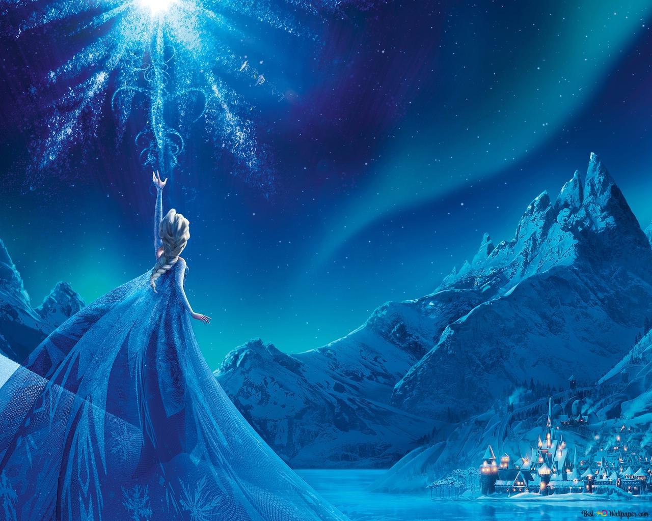 冷凍 艾爾莎雪之女王高清壁紙下載