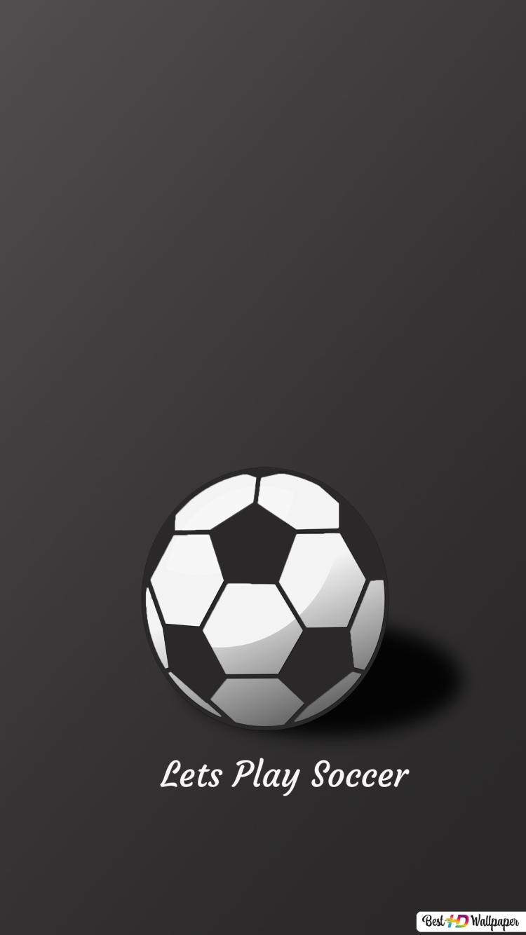 Lets Play Soccer Hd Wallpaper Download