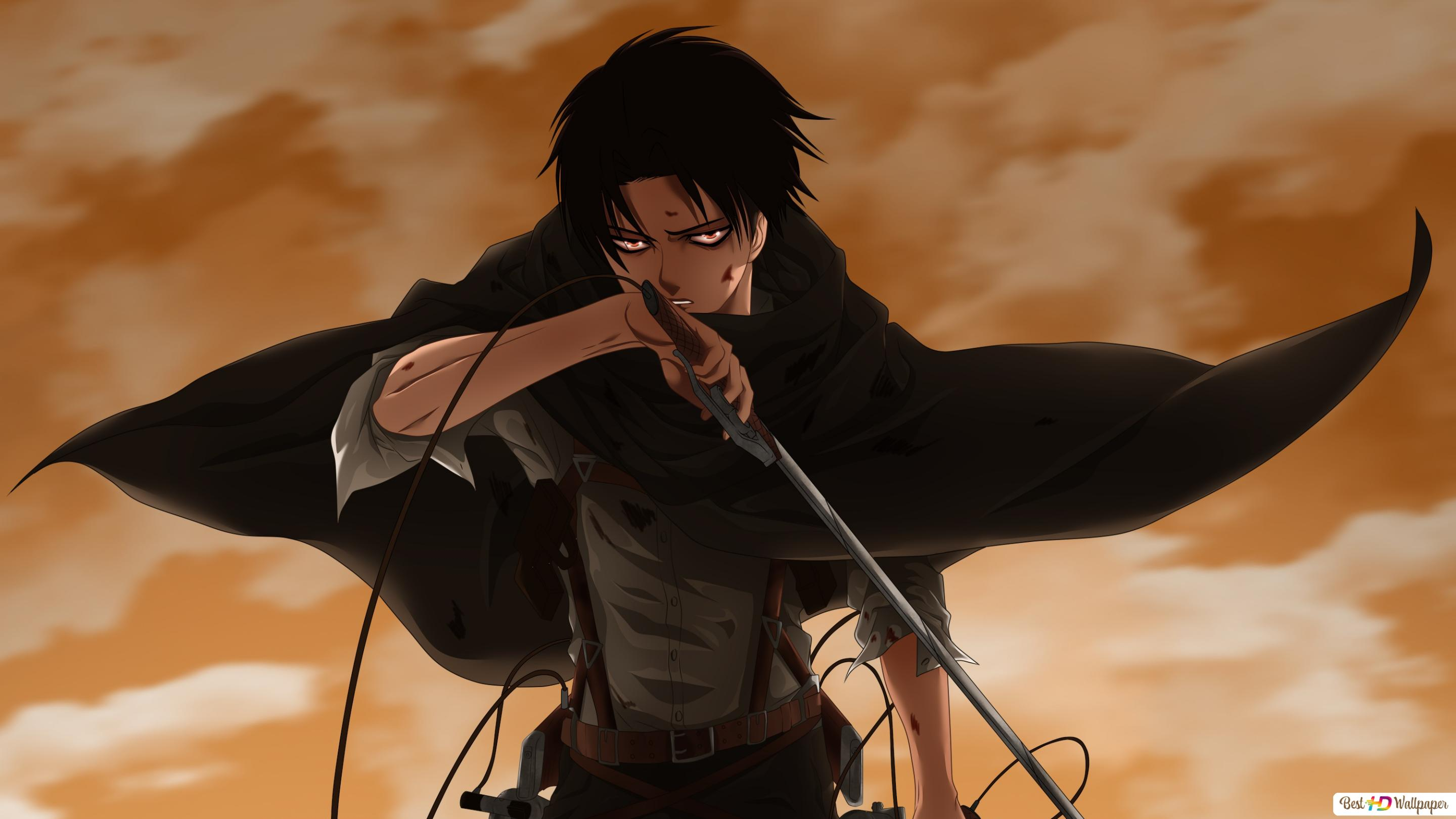 Levi Ackerman Attack On Titan Hd Wallpaper Download