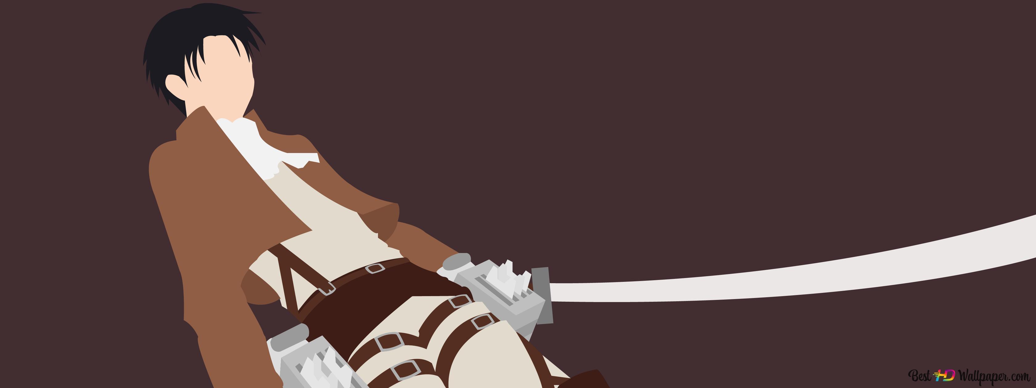 Levi Ackerman Attack On Titan Hd Wallpaper Download