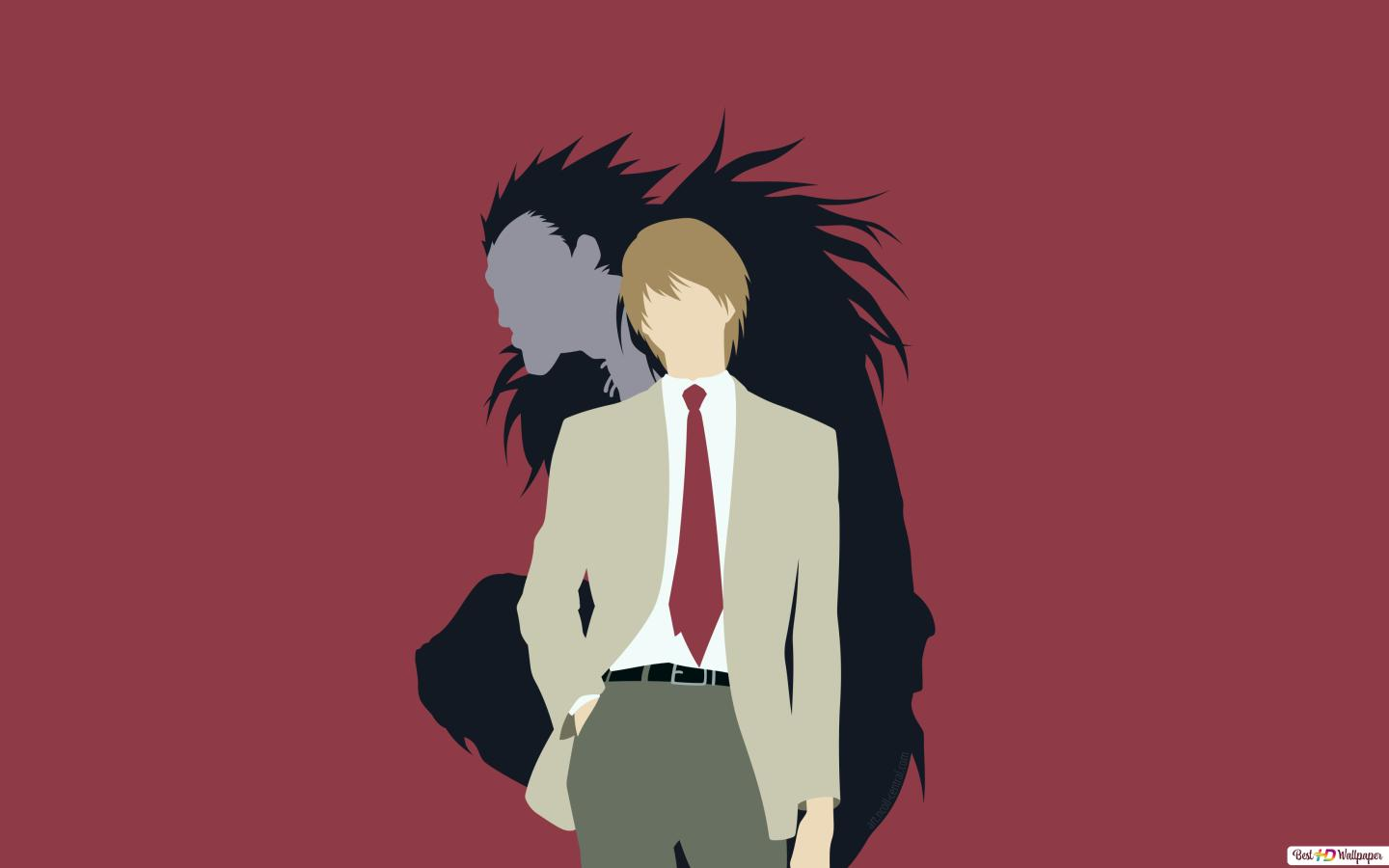 Light Yagami And Ryuk Of Death Note HD Wallpaper Download