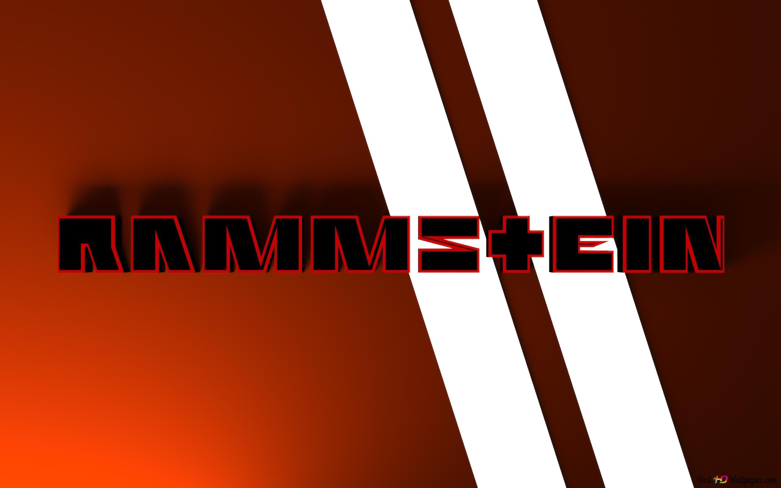 Logo Rammstein Hd Hintergrundbilder Herunterladen