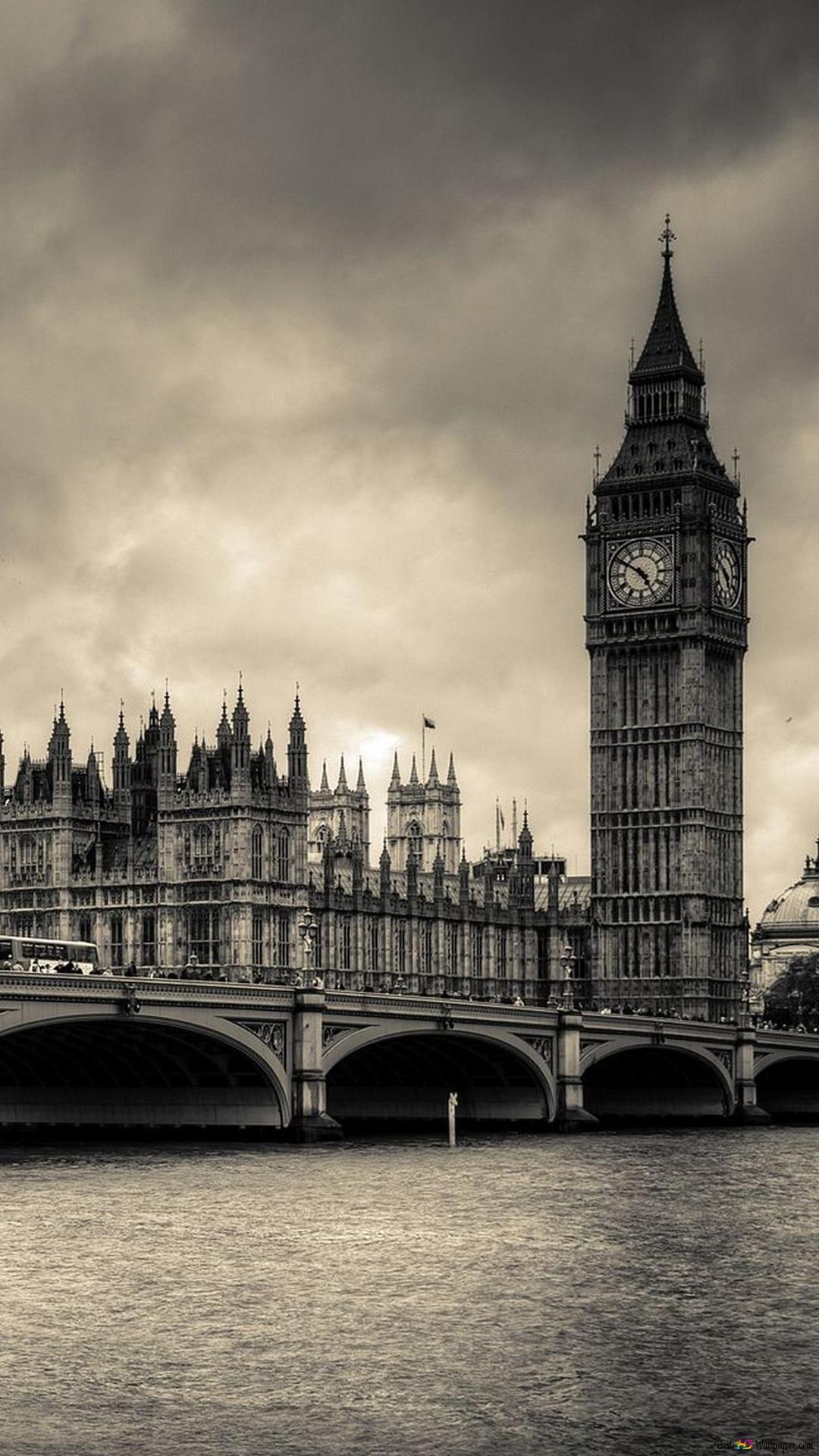 London Old Vintage City Hd Wallpaper Download