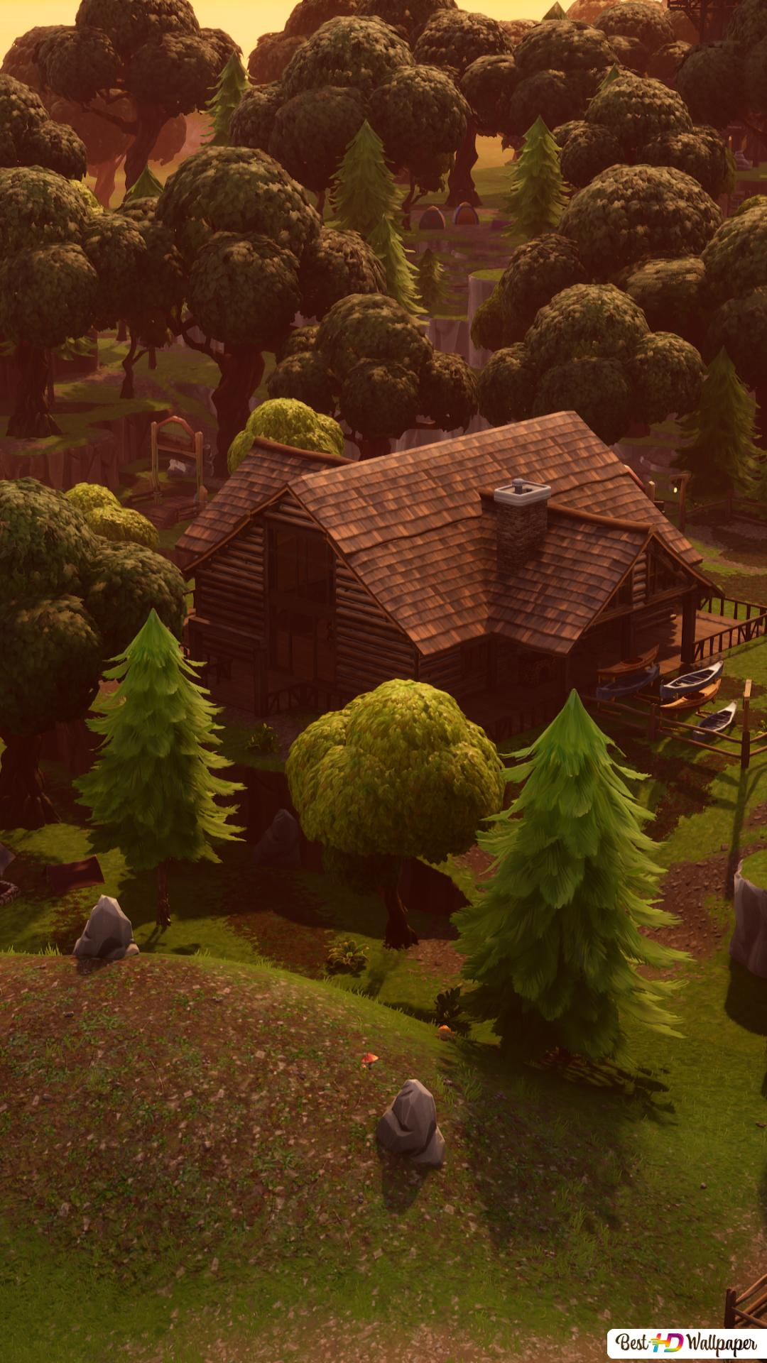 Lonely Lodge 4k Fortnite Hd Wallpaper Downloaden