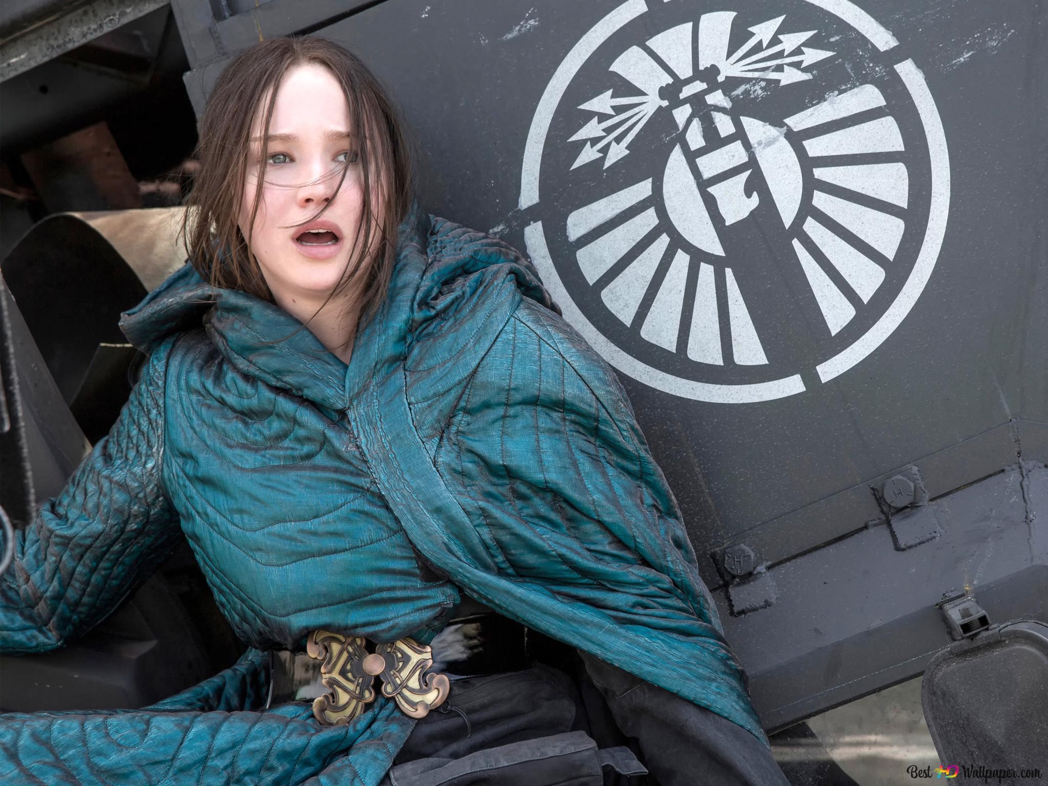 Descargar Fondo De Pantalla Los Juegos Del Hambre Sinsajo Katniss Hd