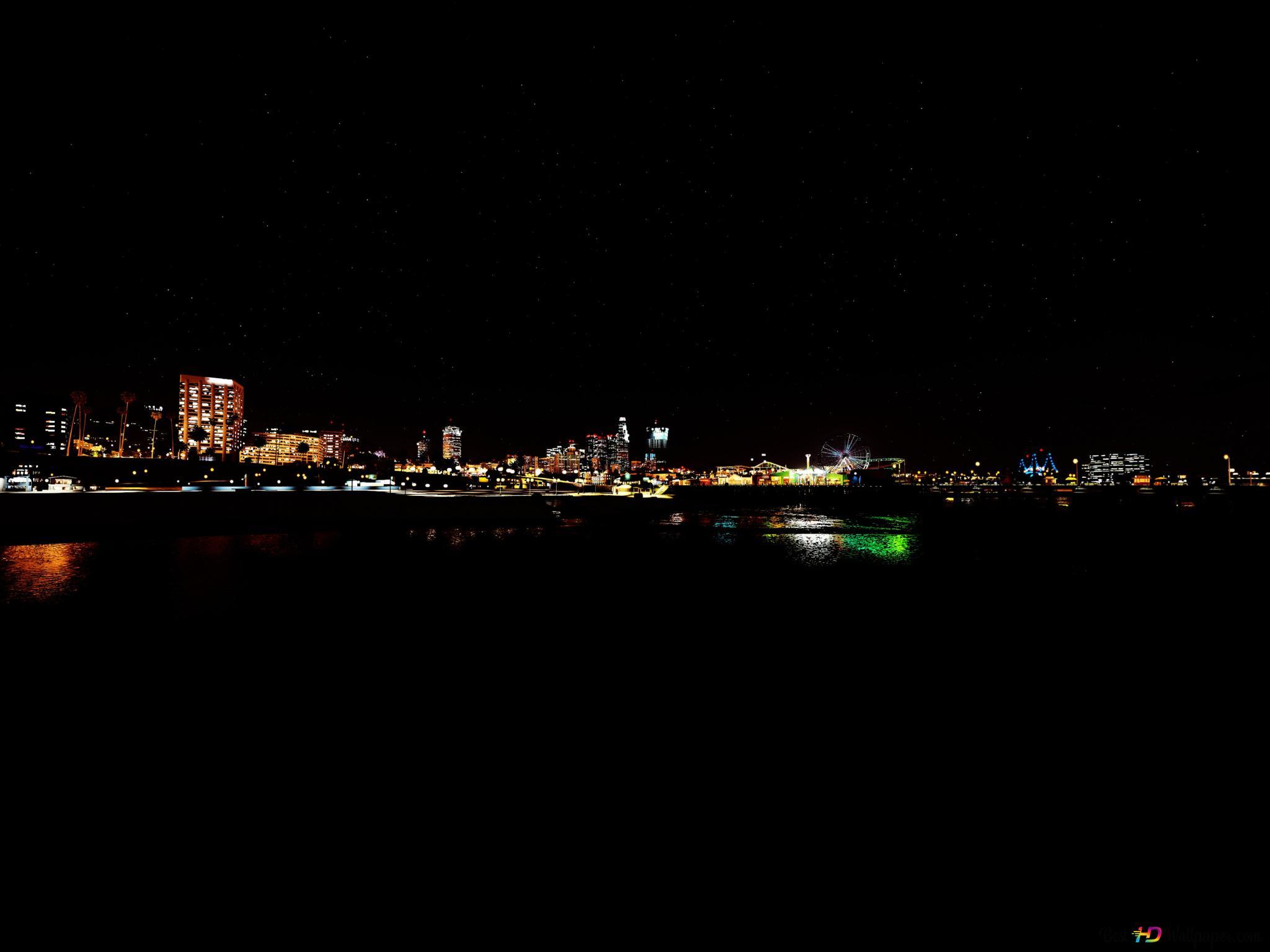 Los Santos La Nuit Hd Fond D Ecran Telecharger