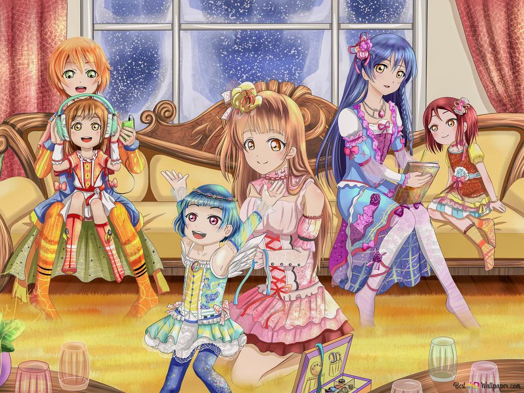 Love Live HD wallpaper download