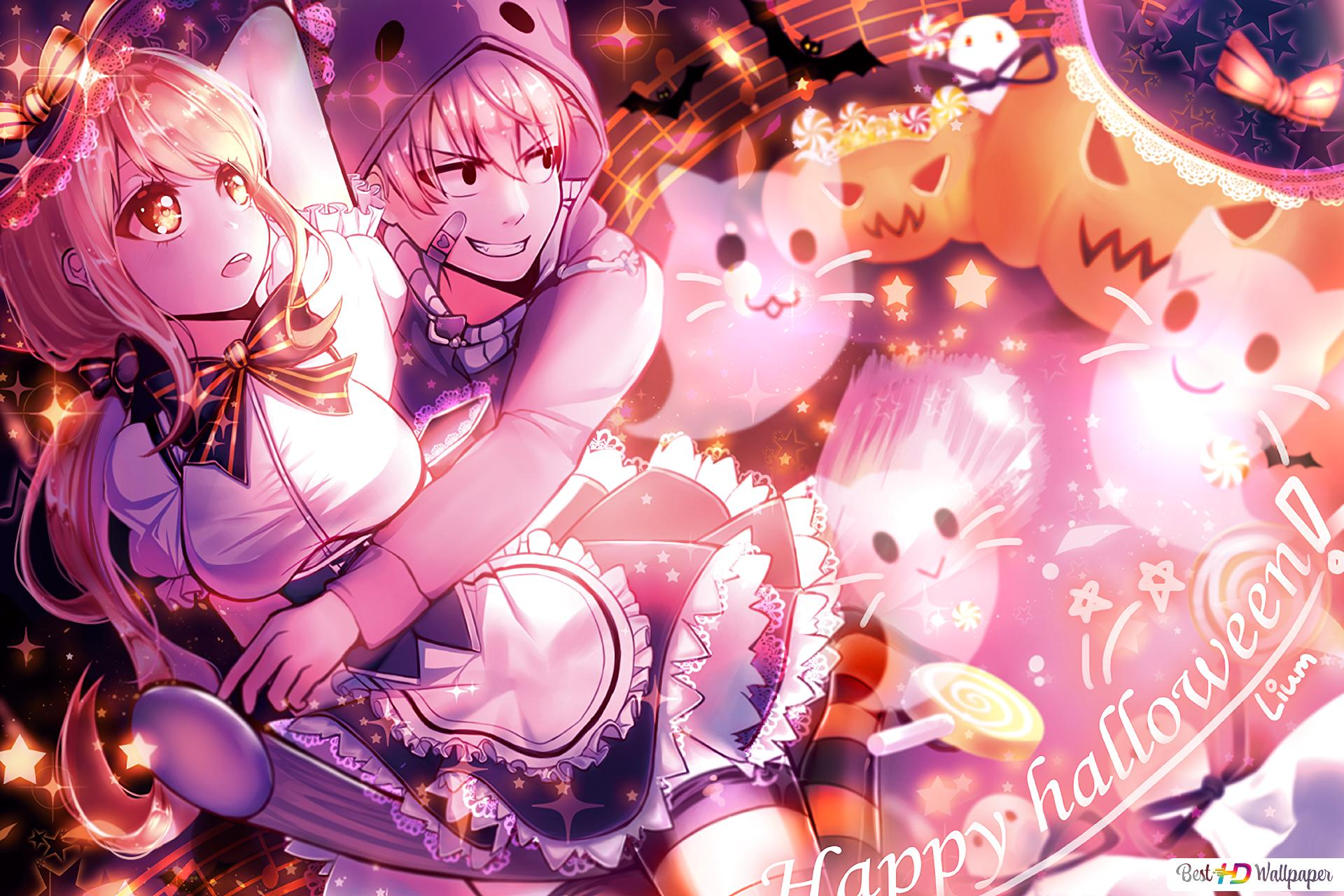 Lucy and Natsu HD wallpaper download