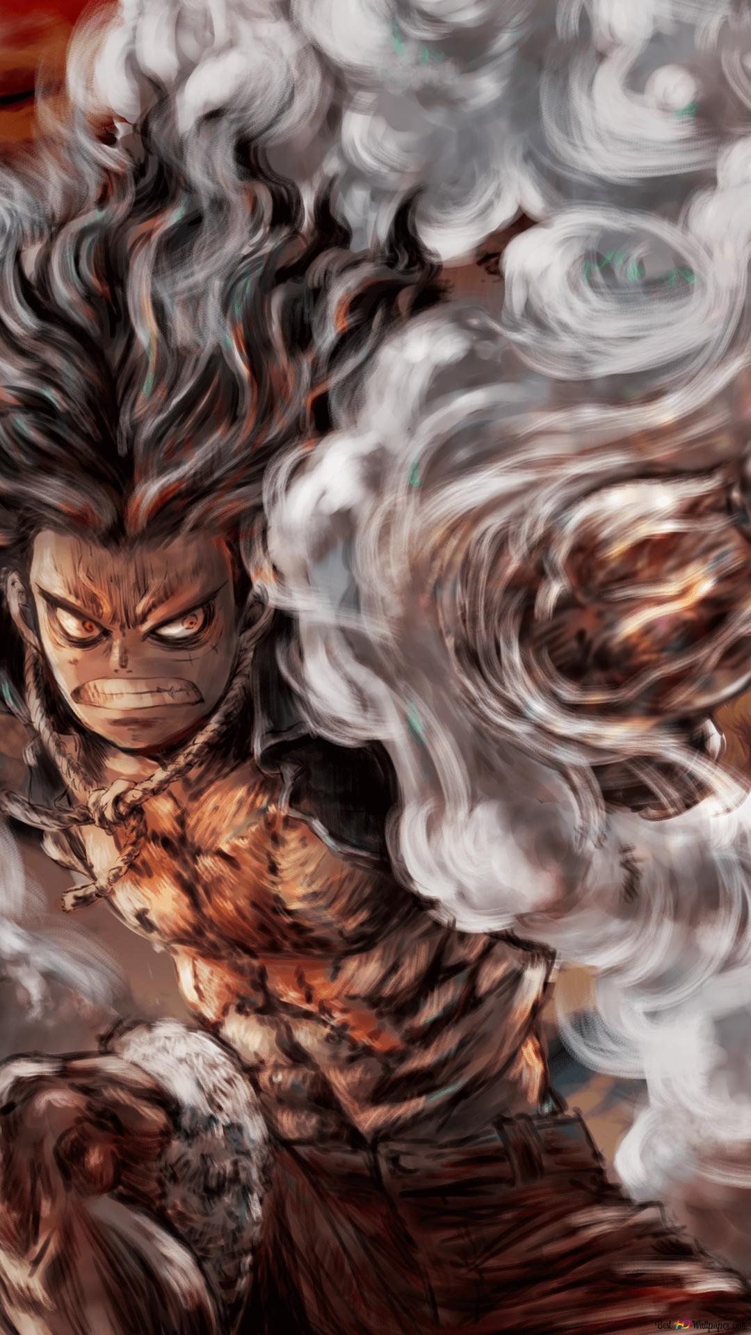 Luffy Gear 4th Snakeman Hd Wallpaper Download