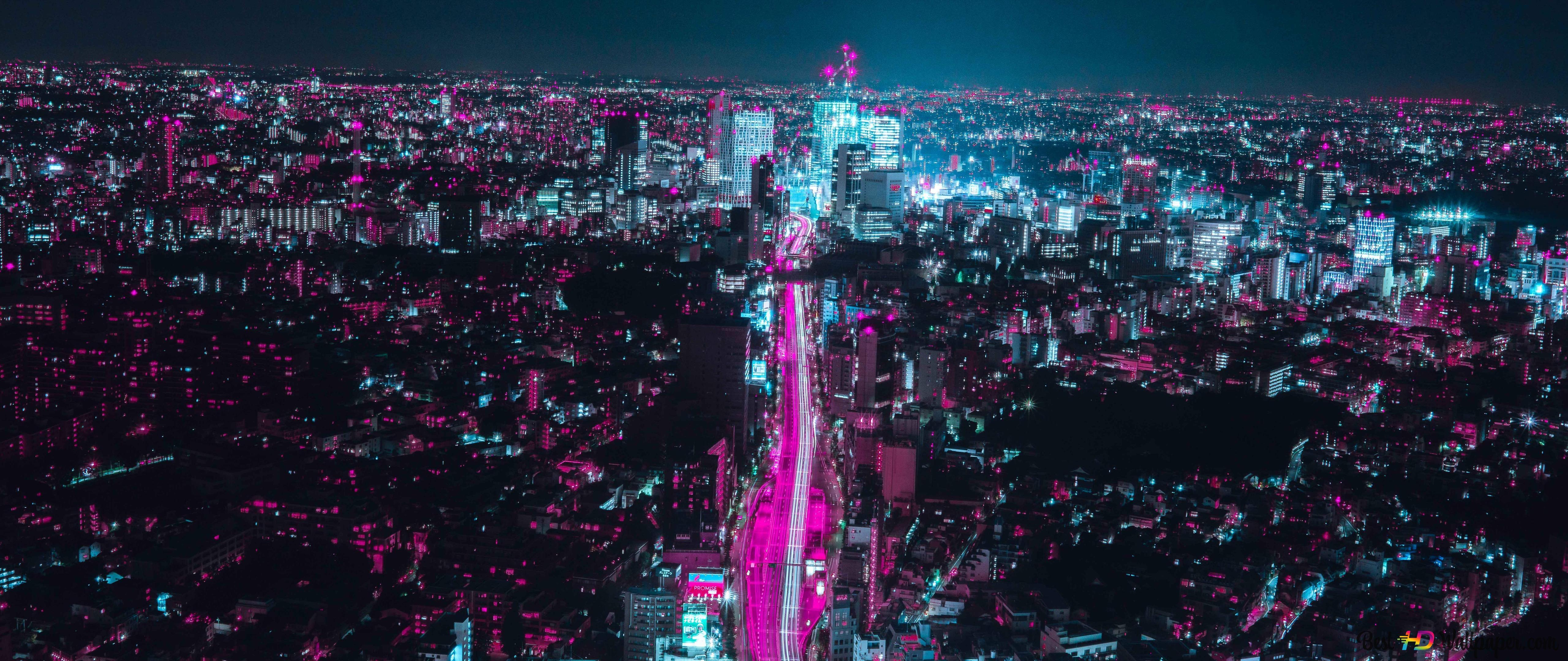 اليابان أوساكا 8k تنزيل خلفية Hd