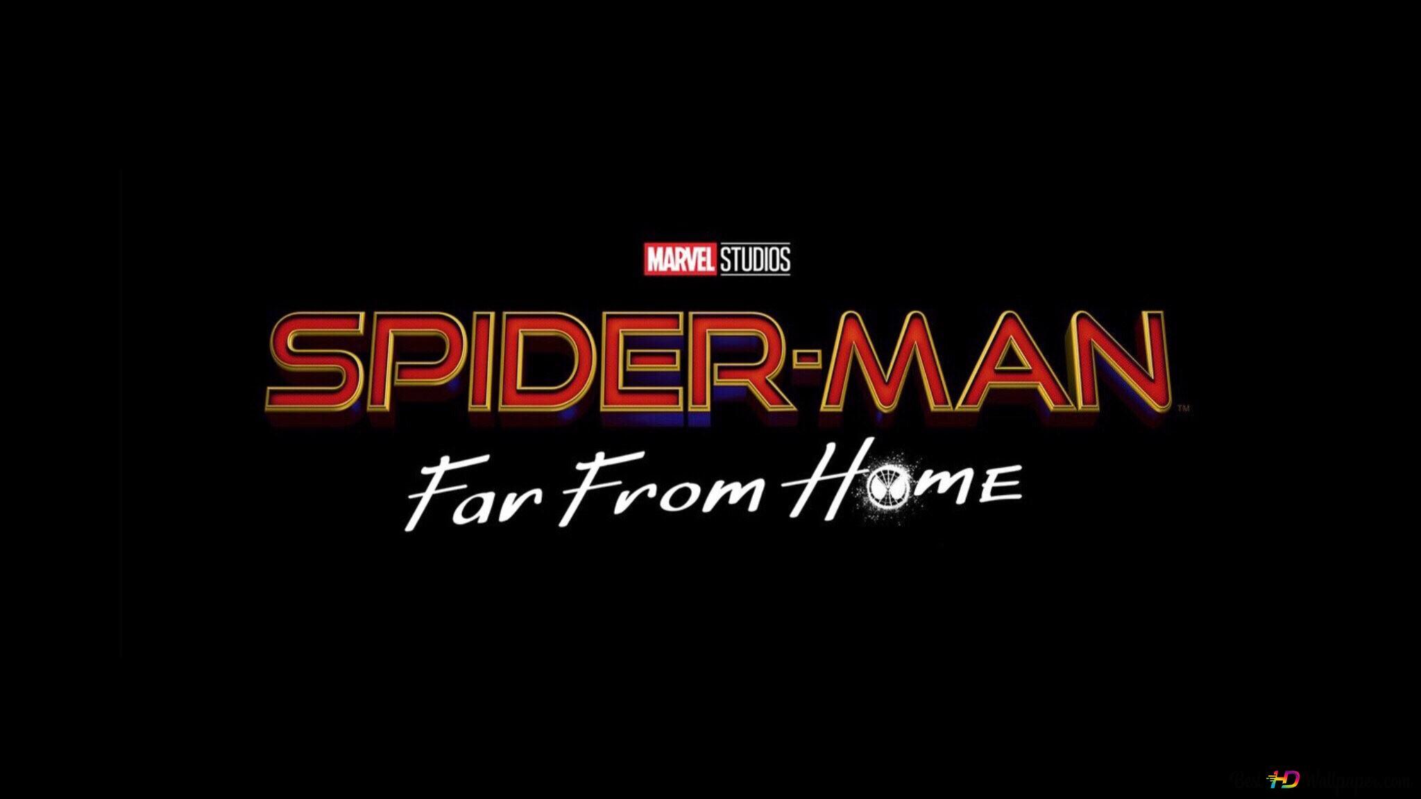 マーベル スタジオスパイダーマン ファーホームロゴから Hd壁紙の