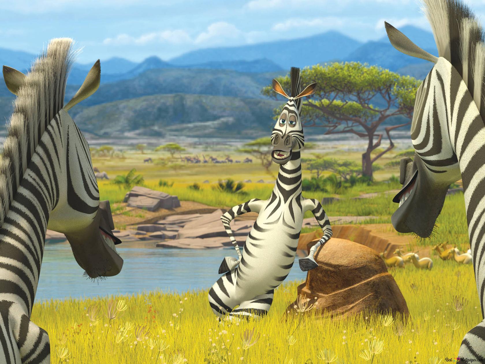 Madagascar movie HD wallpaper download